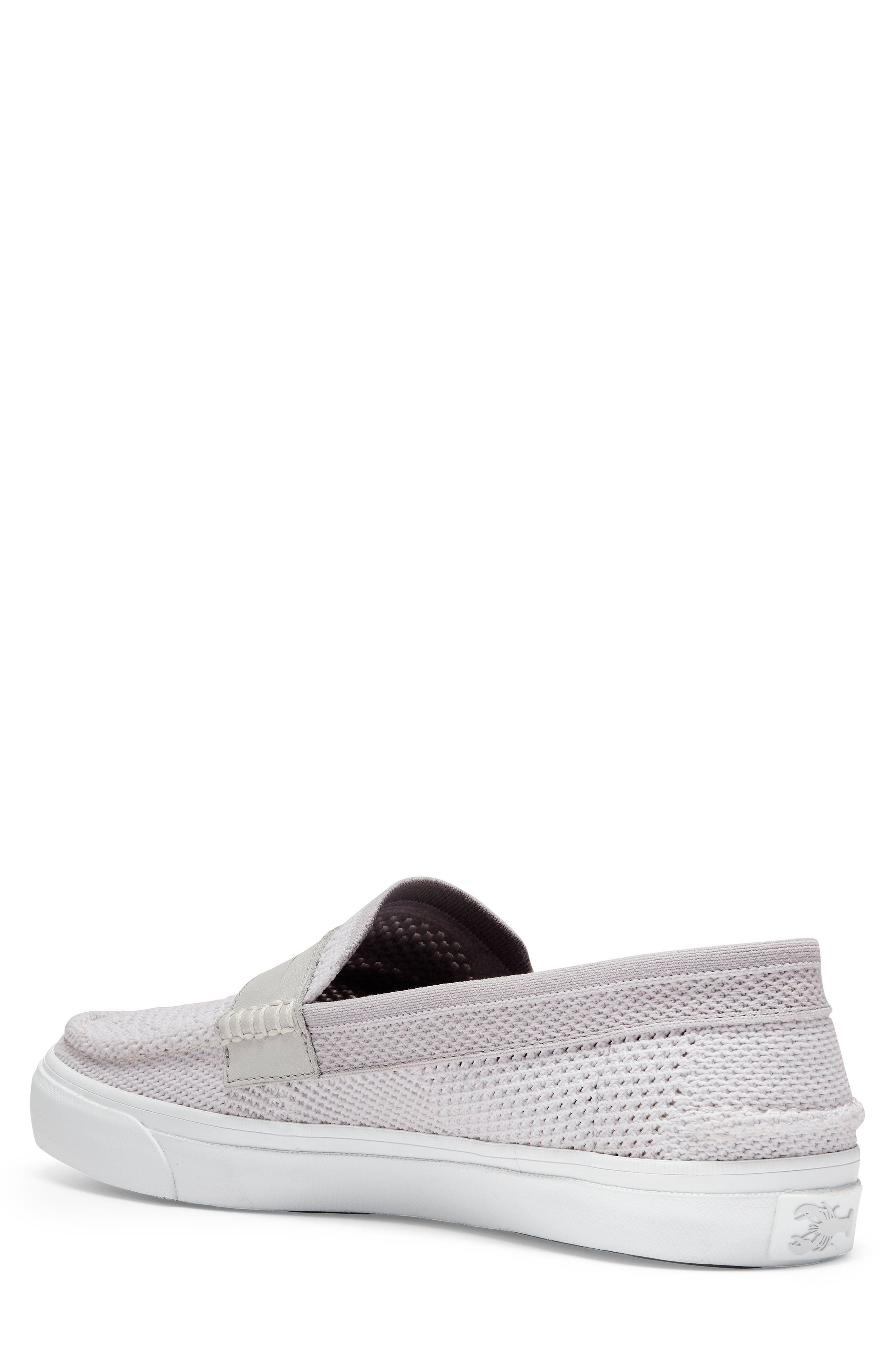Pinch Stitch LX Stitchlite<sup>™</sup> Penny Loafer,                             Alternate thumbnail 2, color,                             VAPOR GREY /OPTIC WHITE