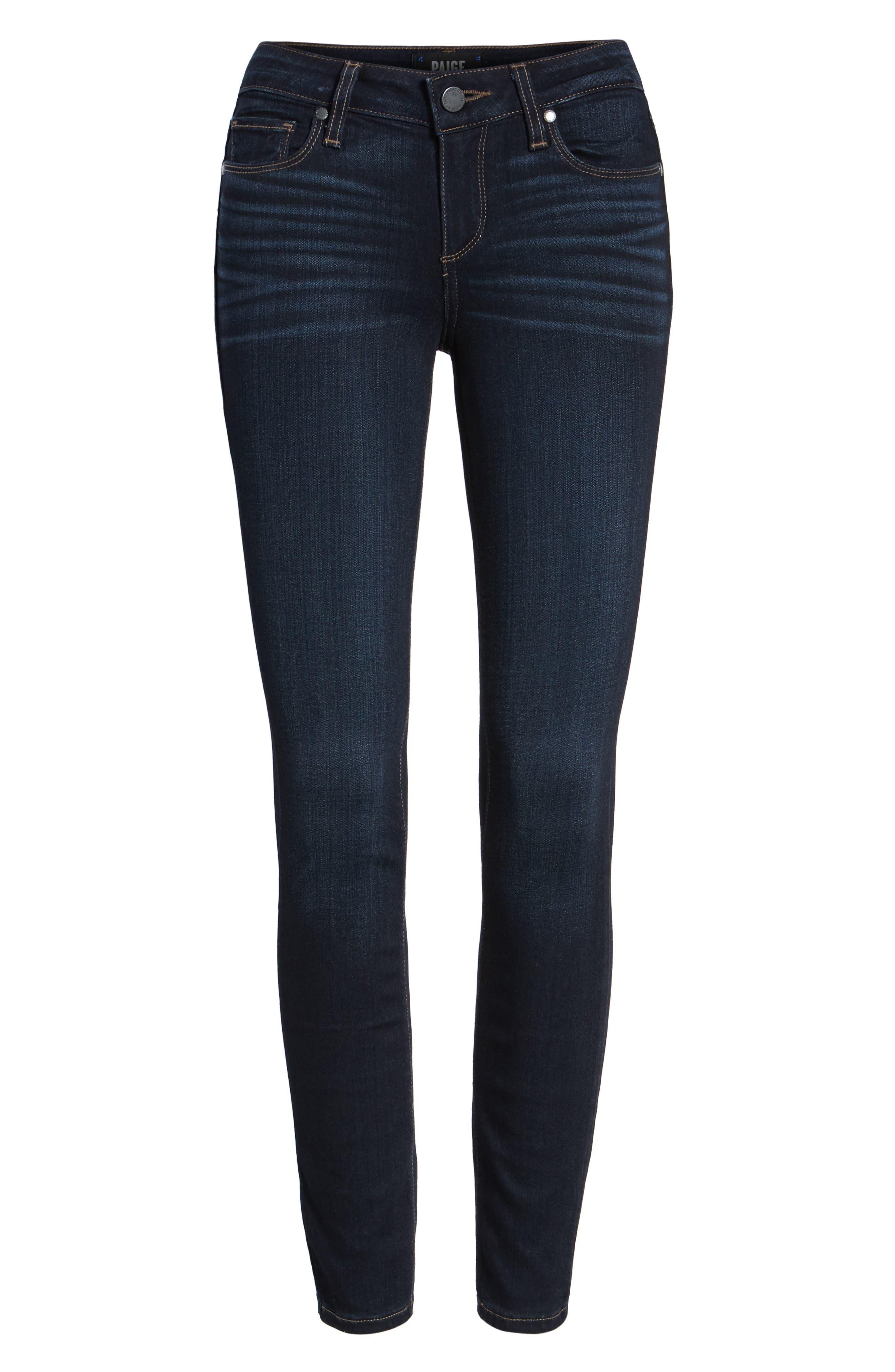 Transcend Verdugo Ankle Ultra Skinny Jeans,                             Main thumbnail 1, color,                             ELLORA