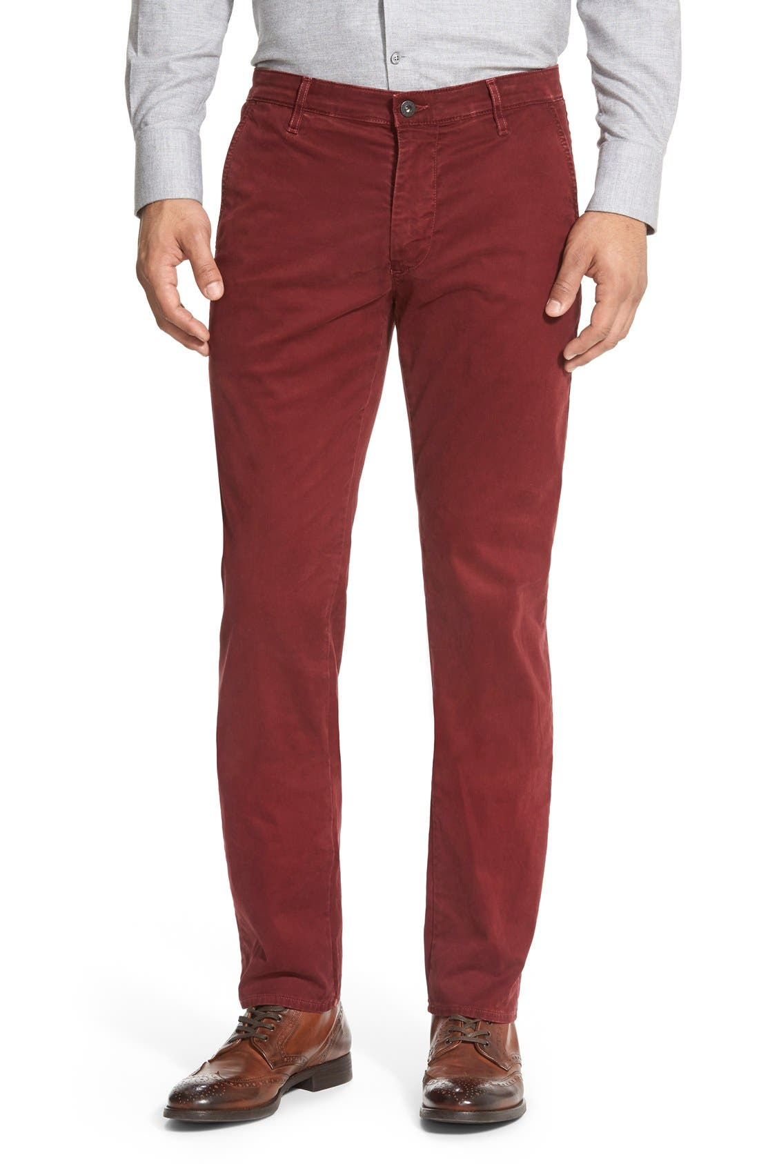'The Lux' Tailored Straight Leg Chinos,                             Main thumbnail 14, color,
