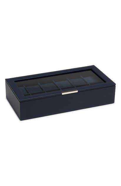 Wolf Watches STACKABLE WATCH CASE - BLUE