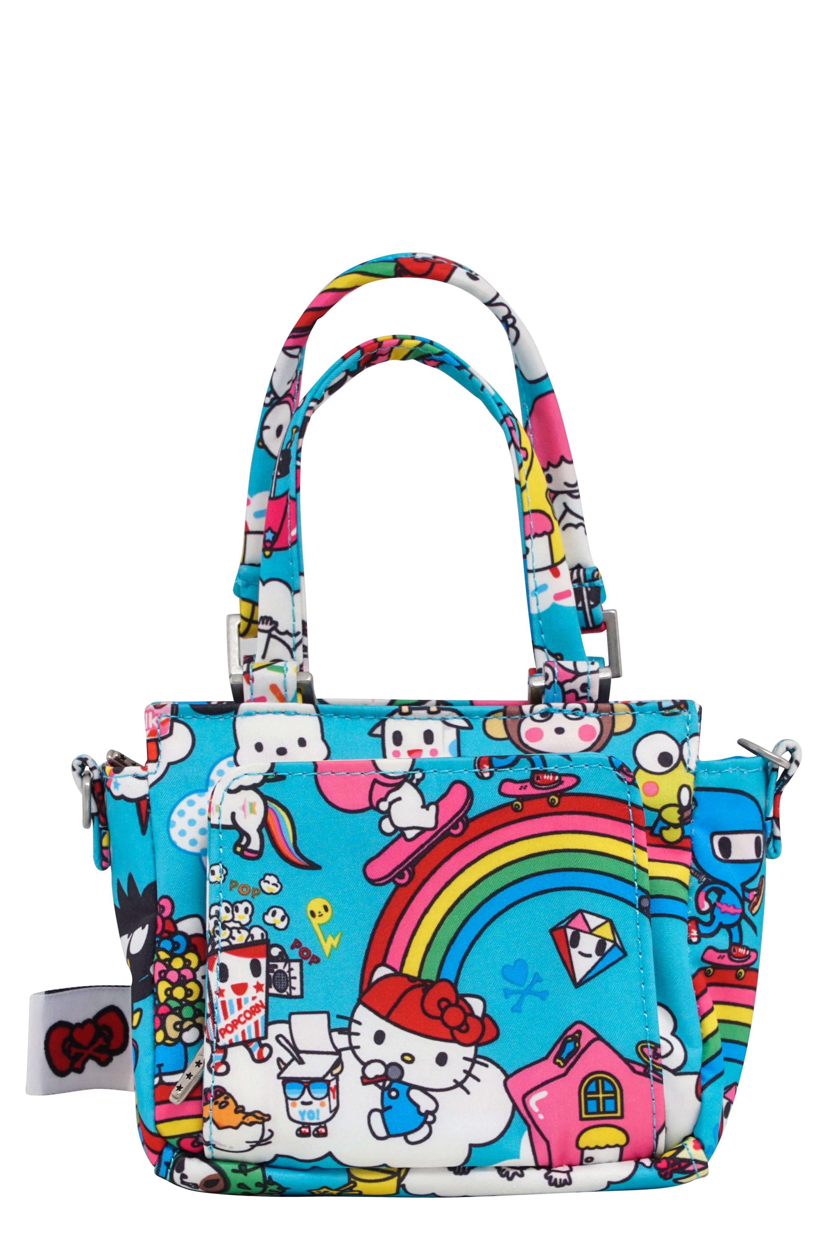 x tokidoki for Hello Sanrio Rainbow Dreams Be Itty Bitty Dolly Diaper Bag,                             Main thumbnail 1, color,