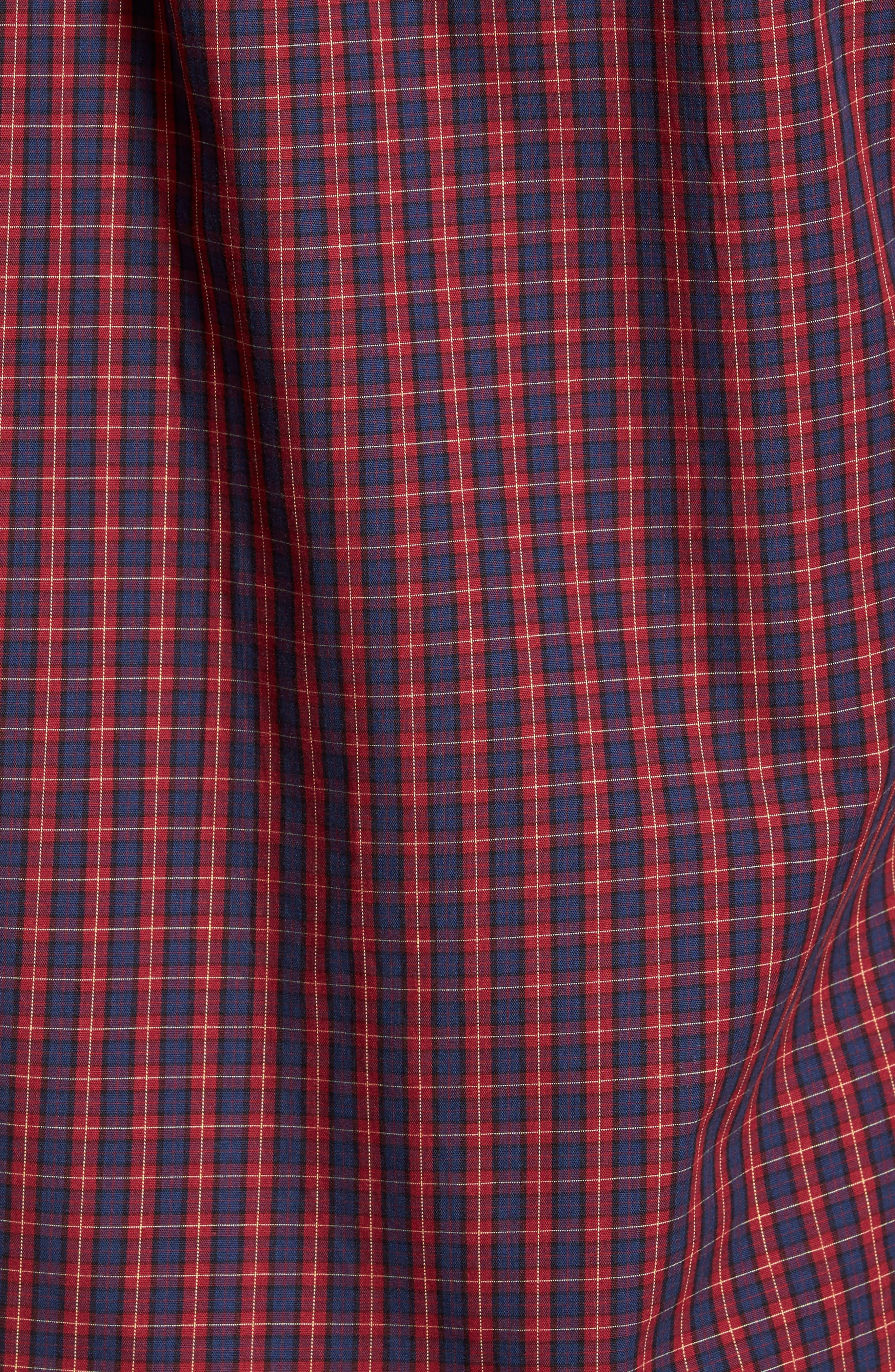 Tinto Plaid Woven Shirt,                             Alternate thumbnail 5, color,                             600