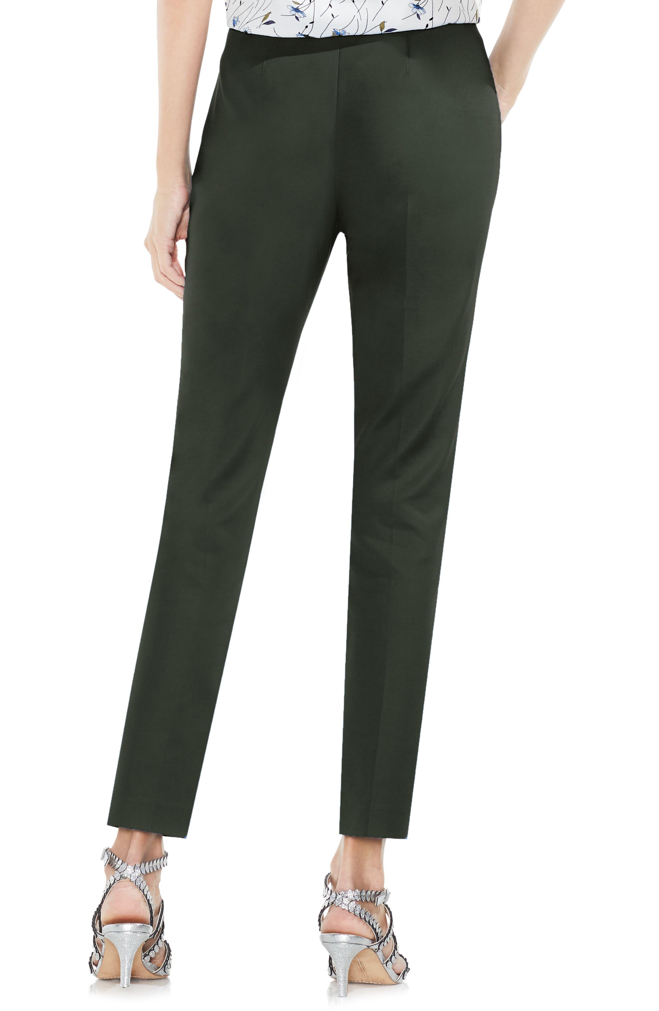 Side Zip Double Weave Pants,                             Alternate thumbnail 22, color,