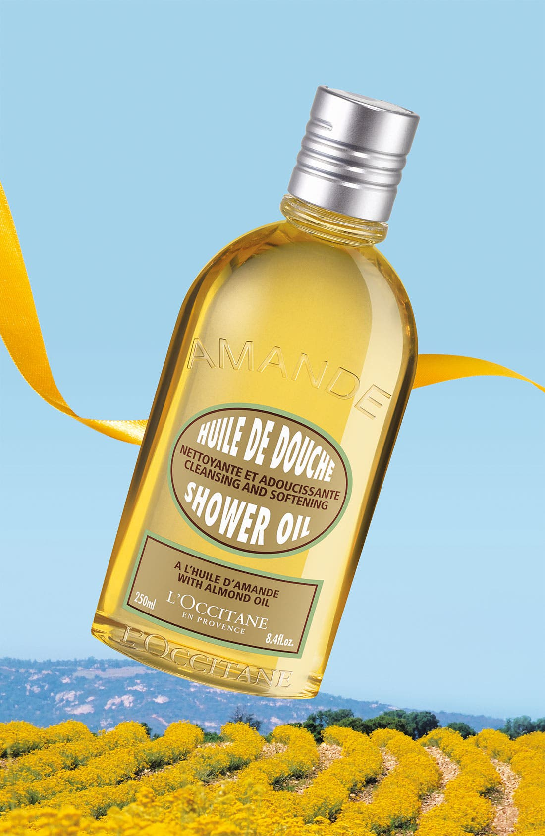 Almond Shower Oil,                             Alternate thumbnail 3, color,                             NO COLOR