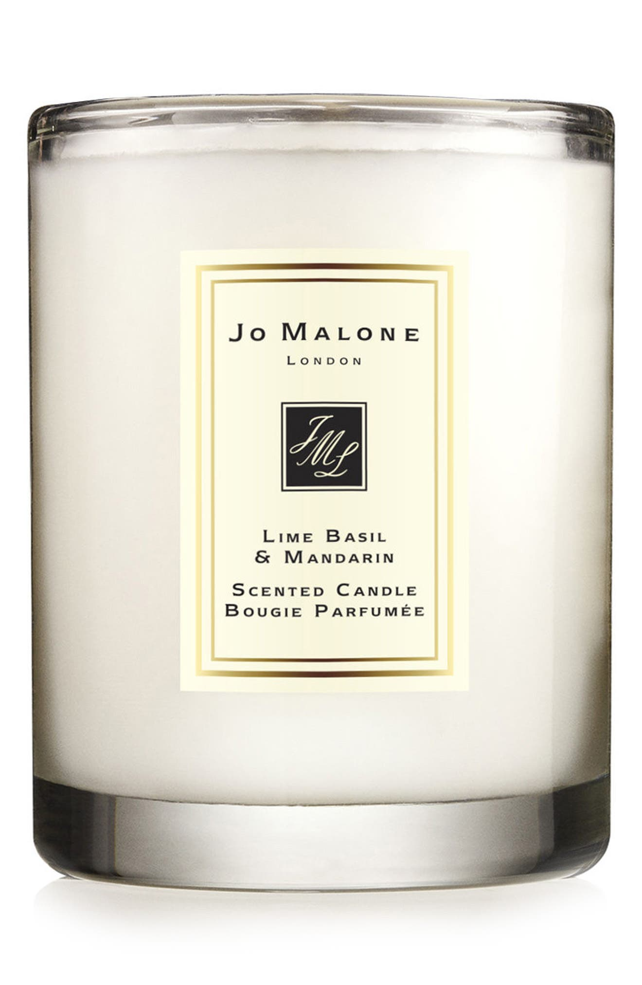 Jo Malone<sup>™</sup> Lime Basil & Mandarin Scented Travel Candle,                             Main thumbnail 1, color,