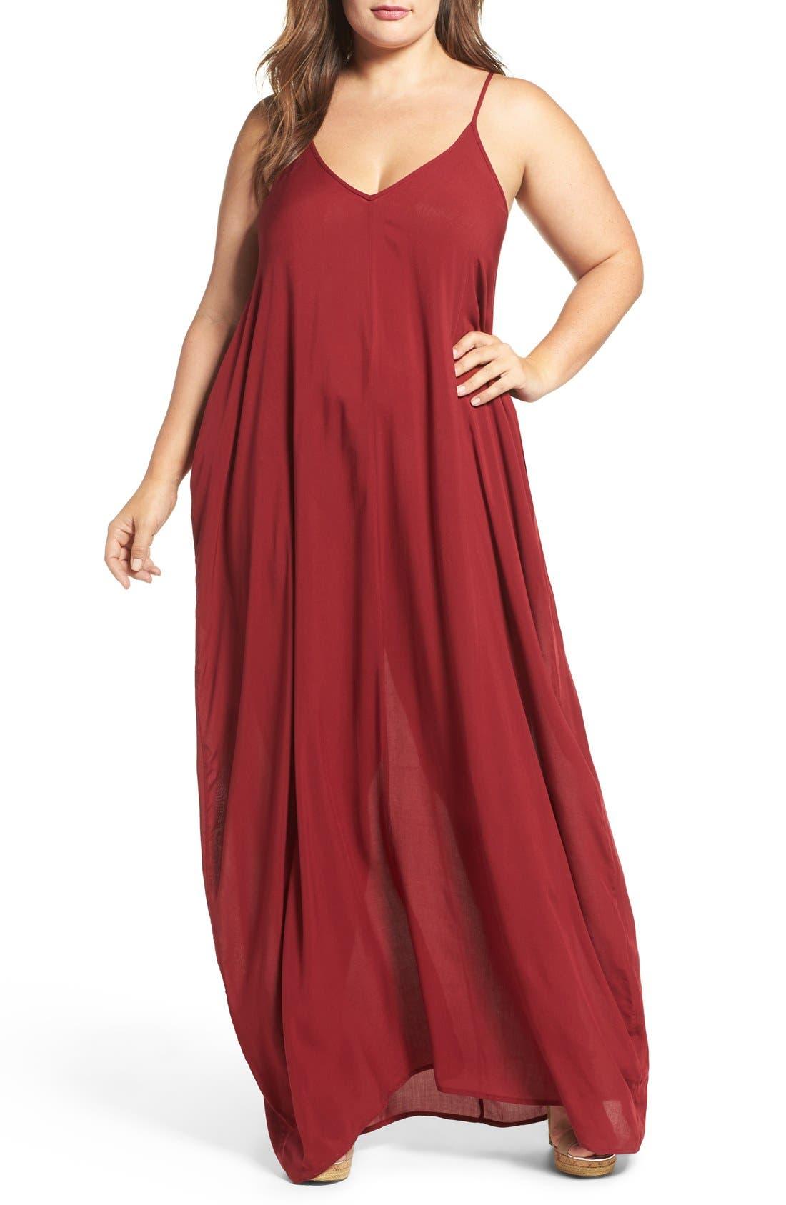 Cover-Up Maxi Dress,                             Main thumbnail 6, color,