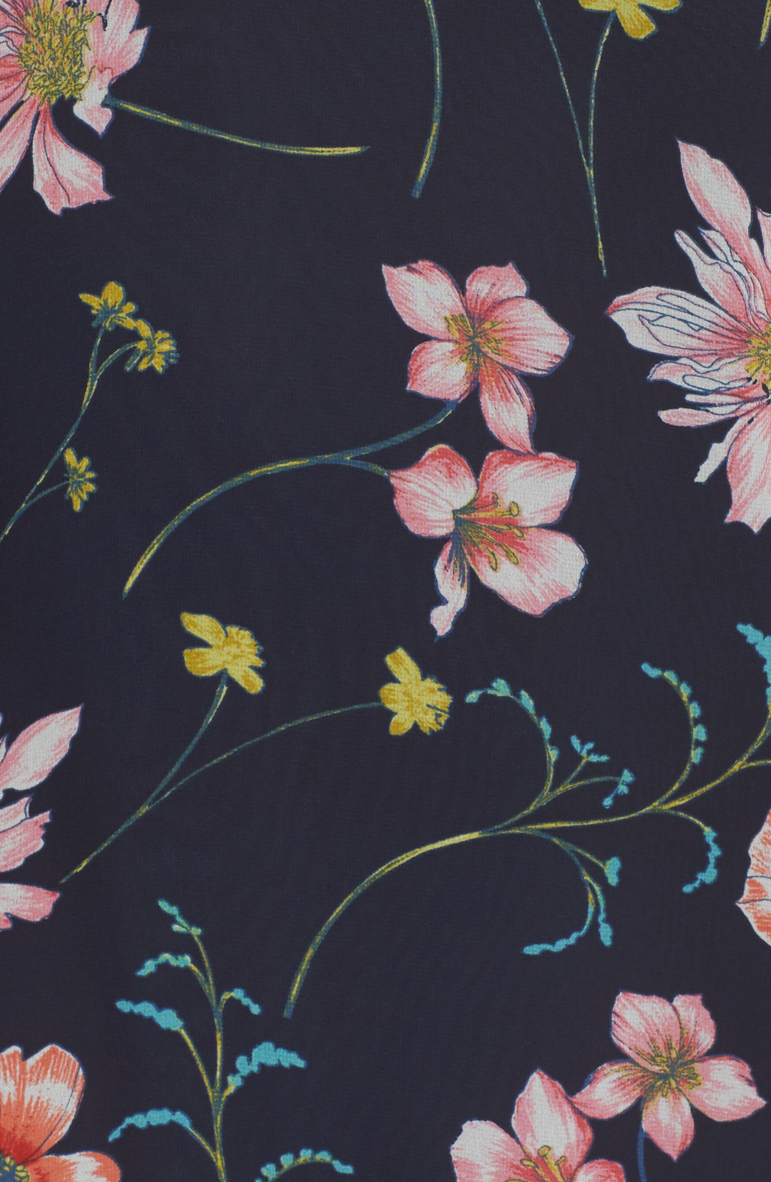 Bell Sleeve Dress,                             Alternate thumbnail 5, color,                             410