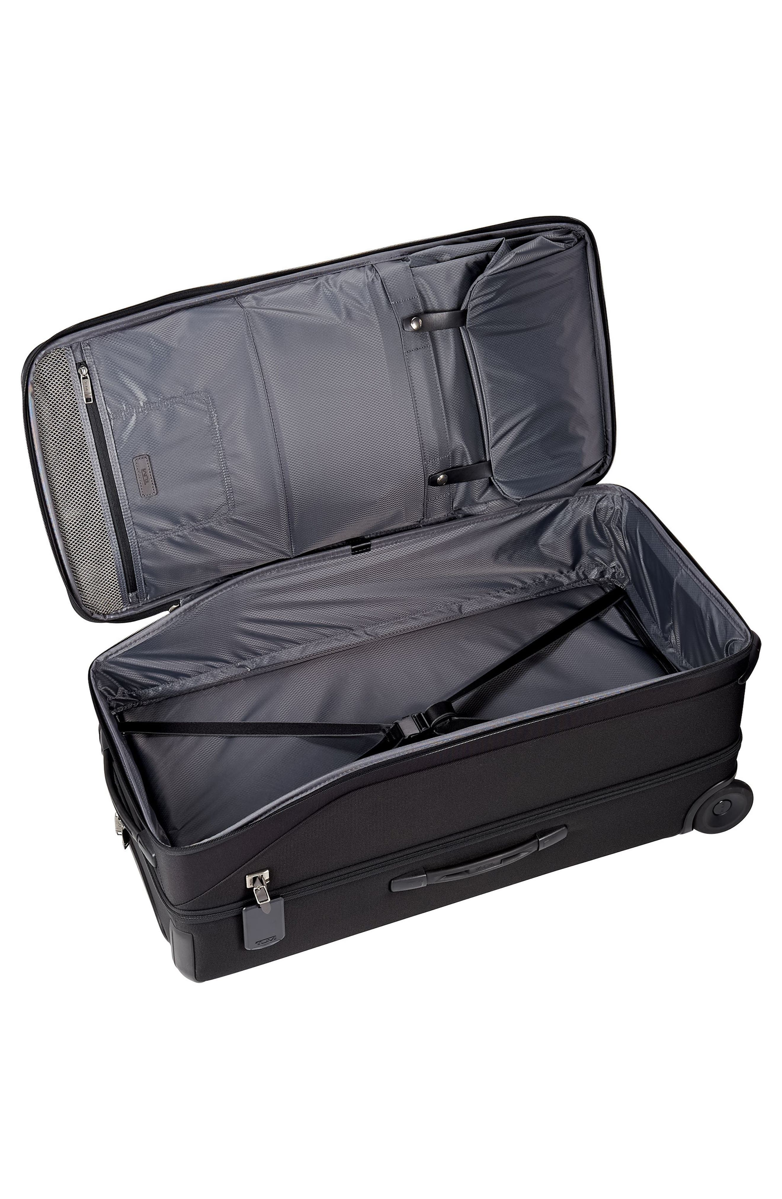 TUMI,                             Merge - 31-Inch Rolling Duffel Bag,                             Alternate thumbnail 3, color,                             BLACK CONTRAST