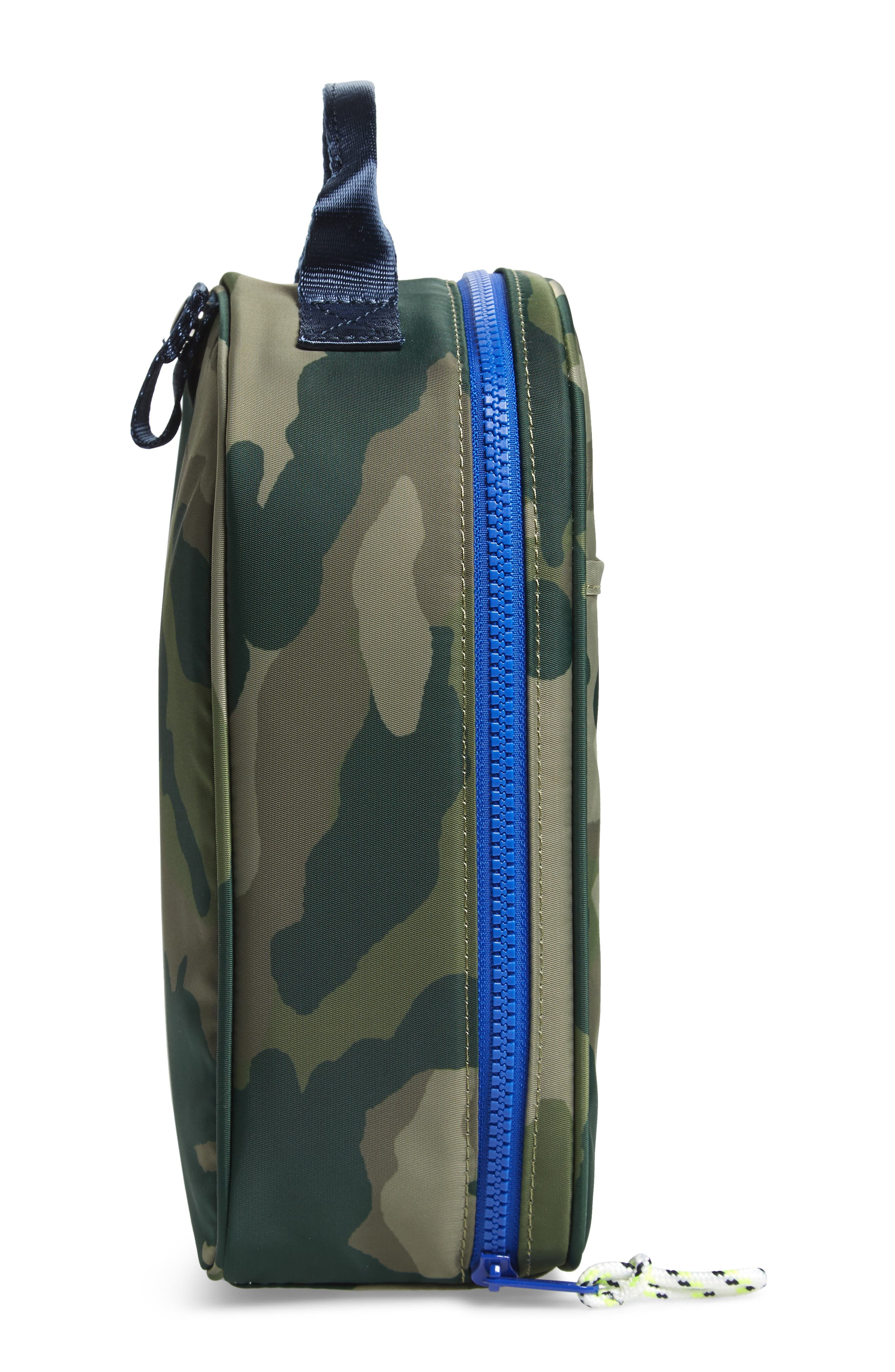 Camo Print Lunch Box,                             Alternate thumbnail 4, color,                             300