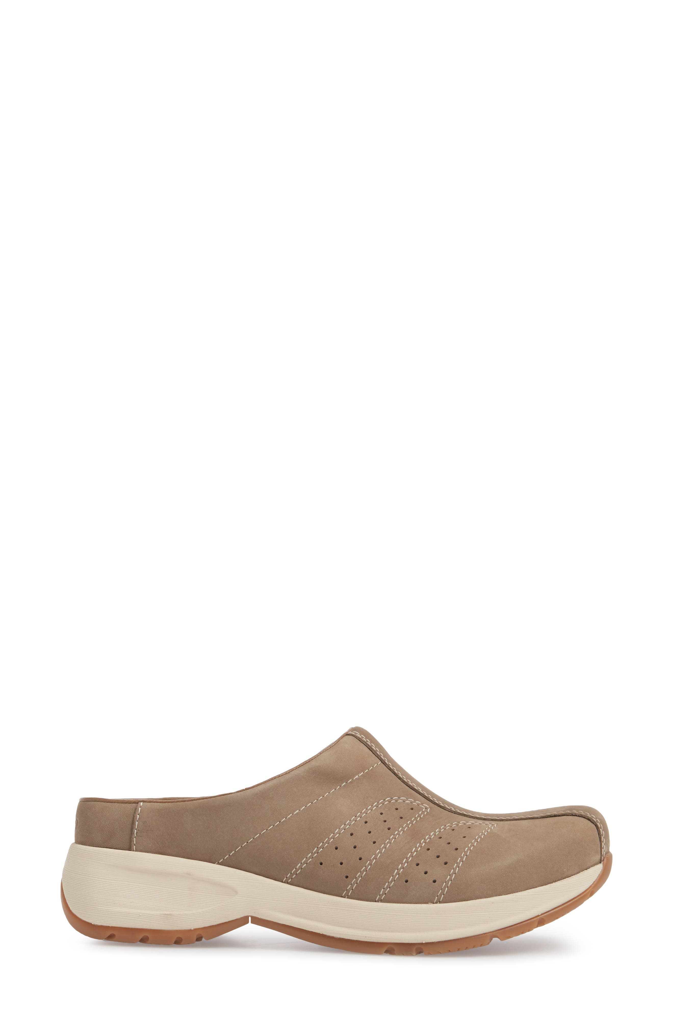 Dankso Shelly Mule,                             Alternate thumbnail 3, color,                             TAUPE MILLED NUBUCK LEATHER
