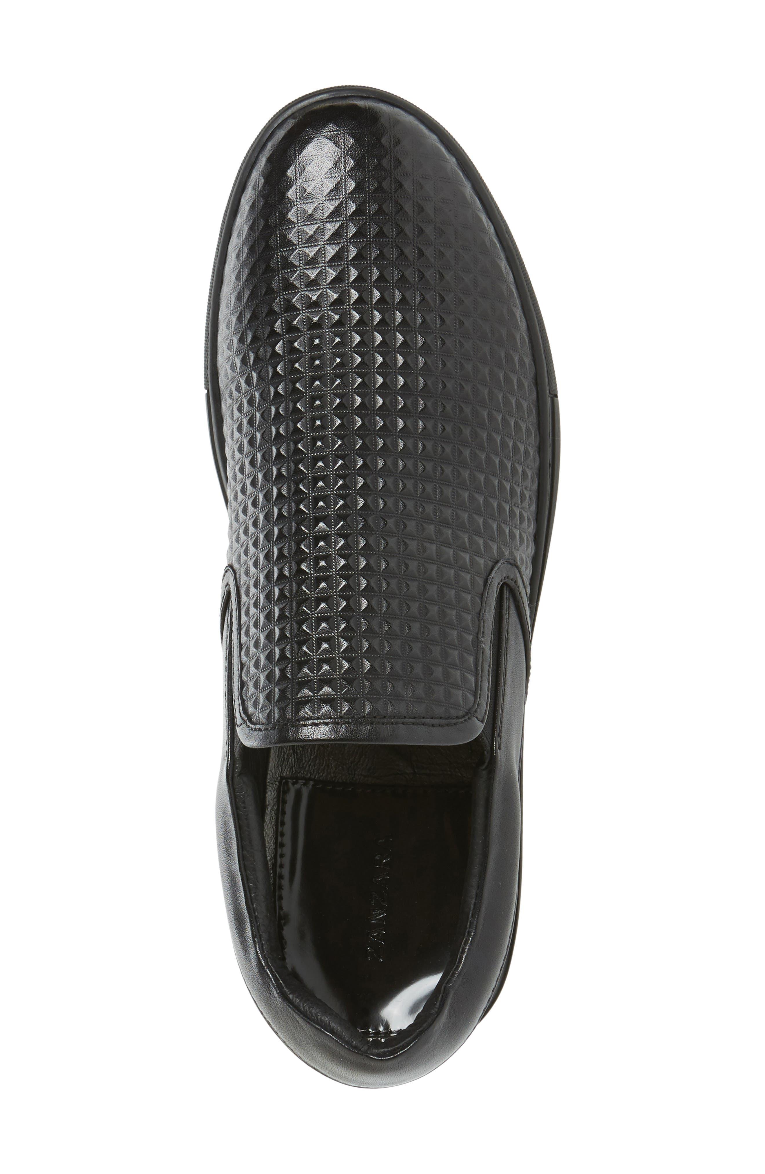 Manet Slip-On Sneaker,                             Alternate thumbnail 3, color,                             001