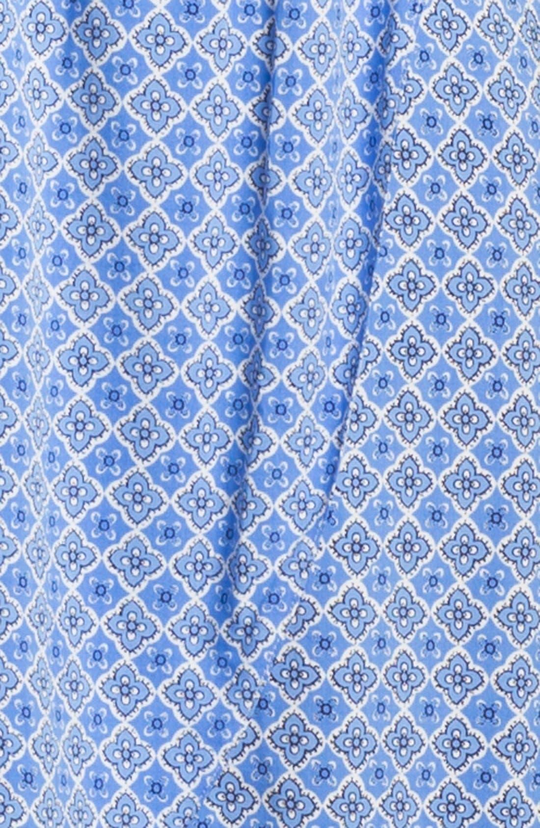 Cutout Faux Wrap Dress,                             Alternate thumbnail 6, color,                             452