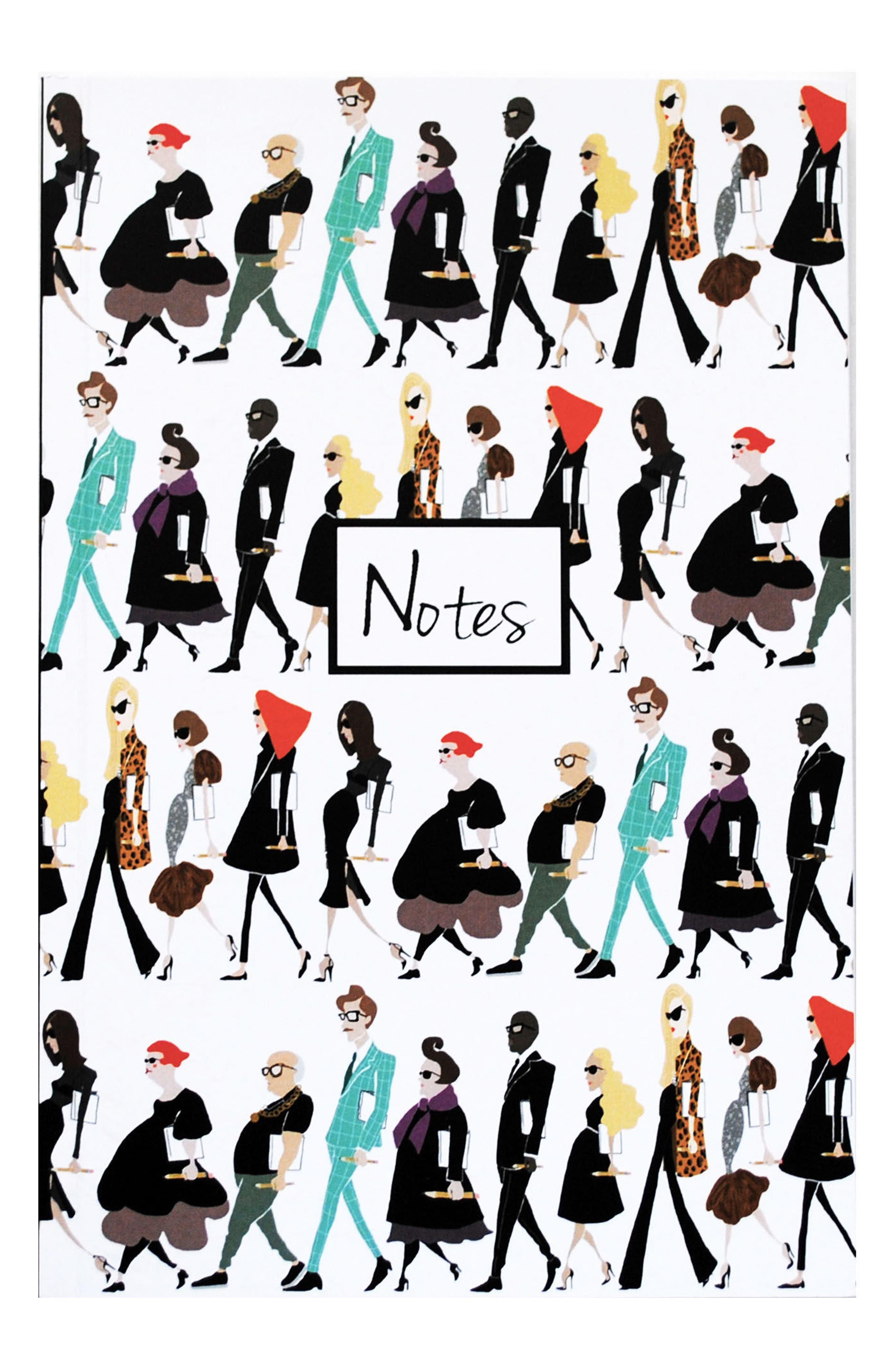 Fashion Notes Journal,                             Main thumbnail 1, color,