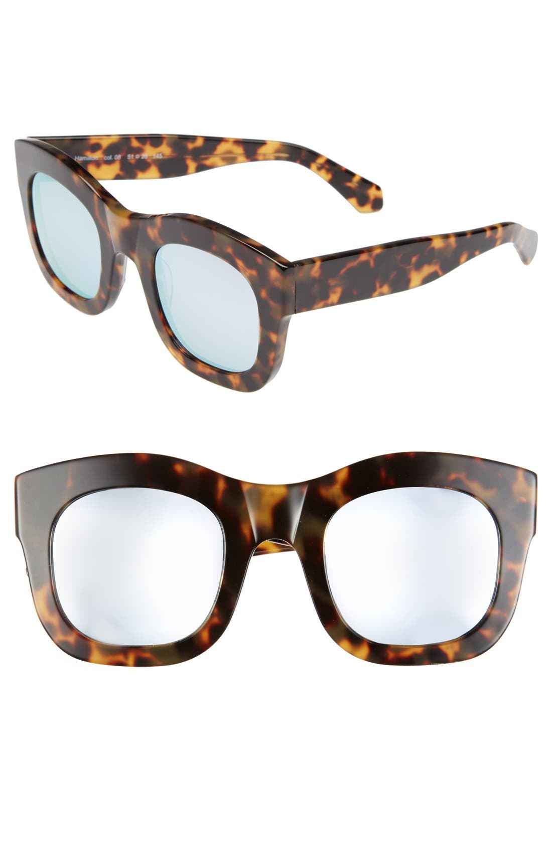 'Hamilton' 49mm Retro Sunglasses,                             Main thumbnail 7, color,