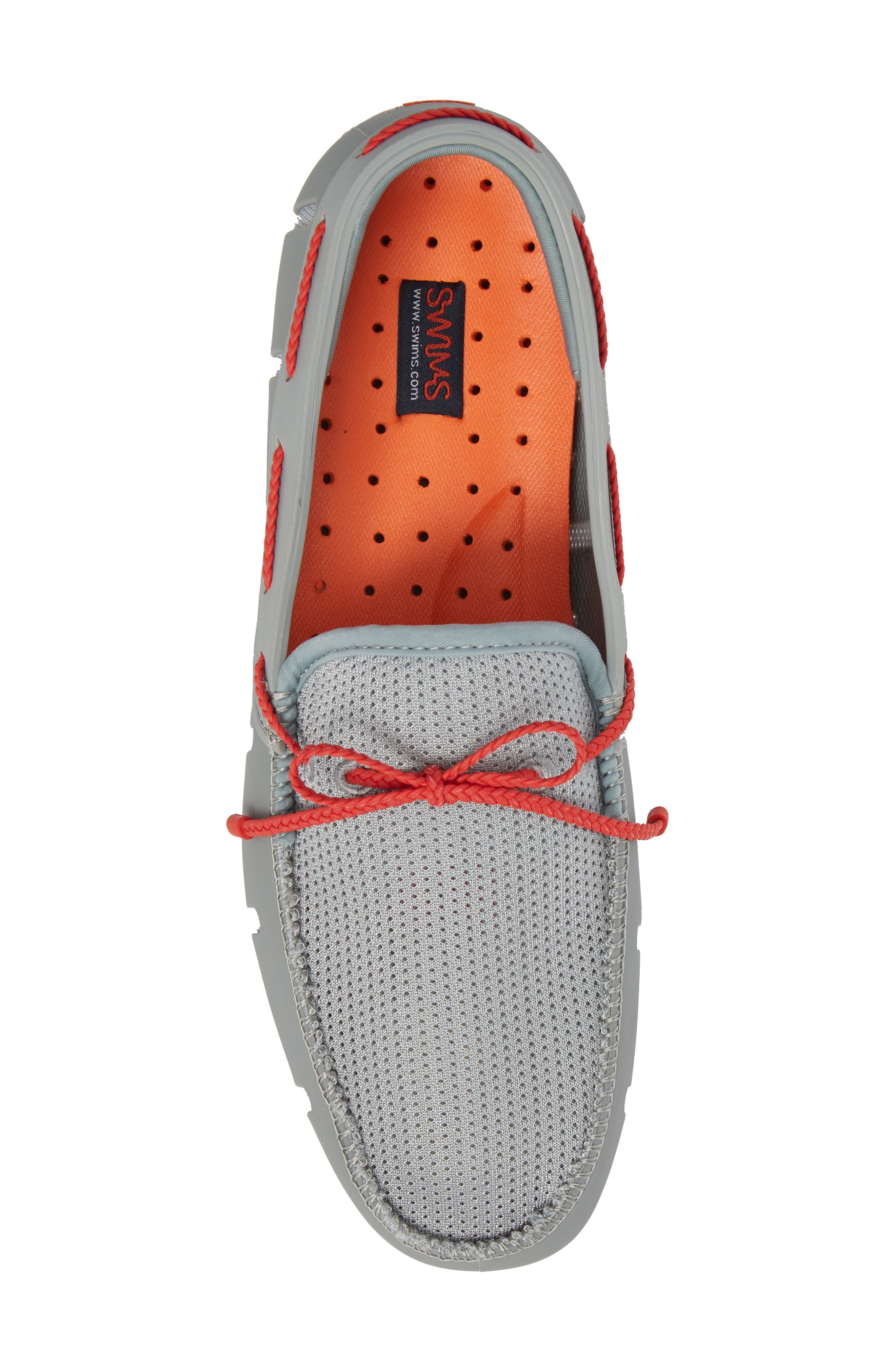 Lace Loafer,                             Alternate thumbnail 5, color,                             LIMESTONE/ TRAFFIC LIGHT