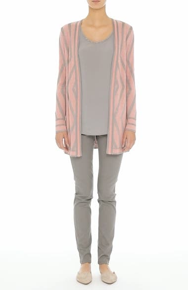 Matte Shine Geo Jacquard Knit Cardigan, video thumbnail