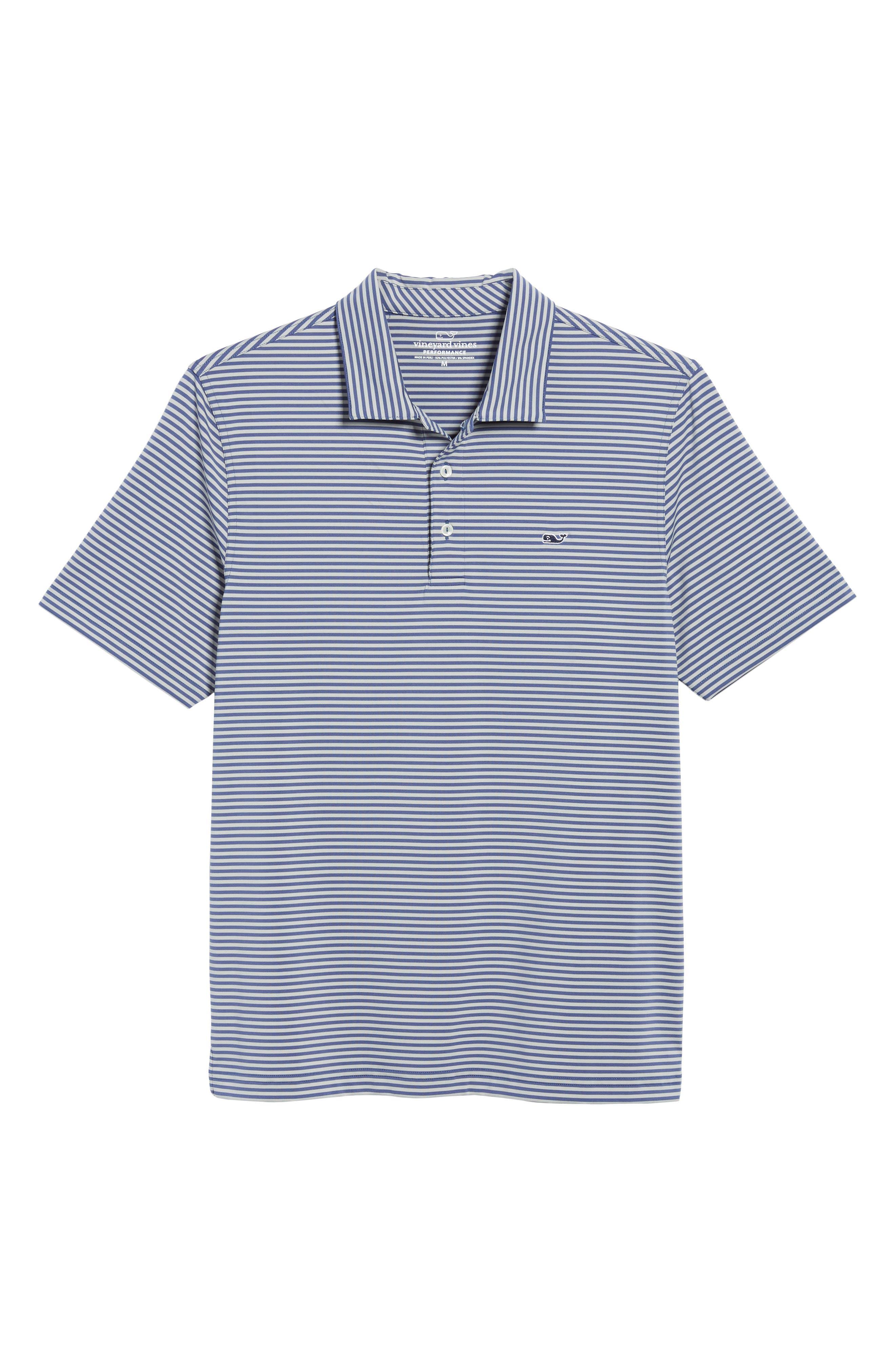 Kennedy Stripe Golf Polo,                             Alternate thumbnail 97, color,