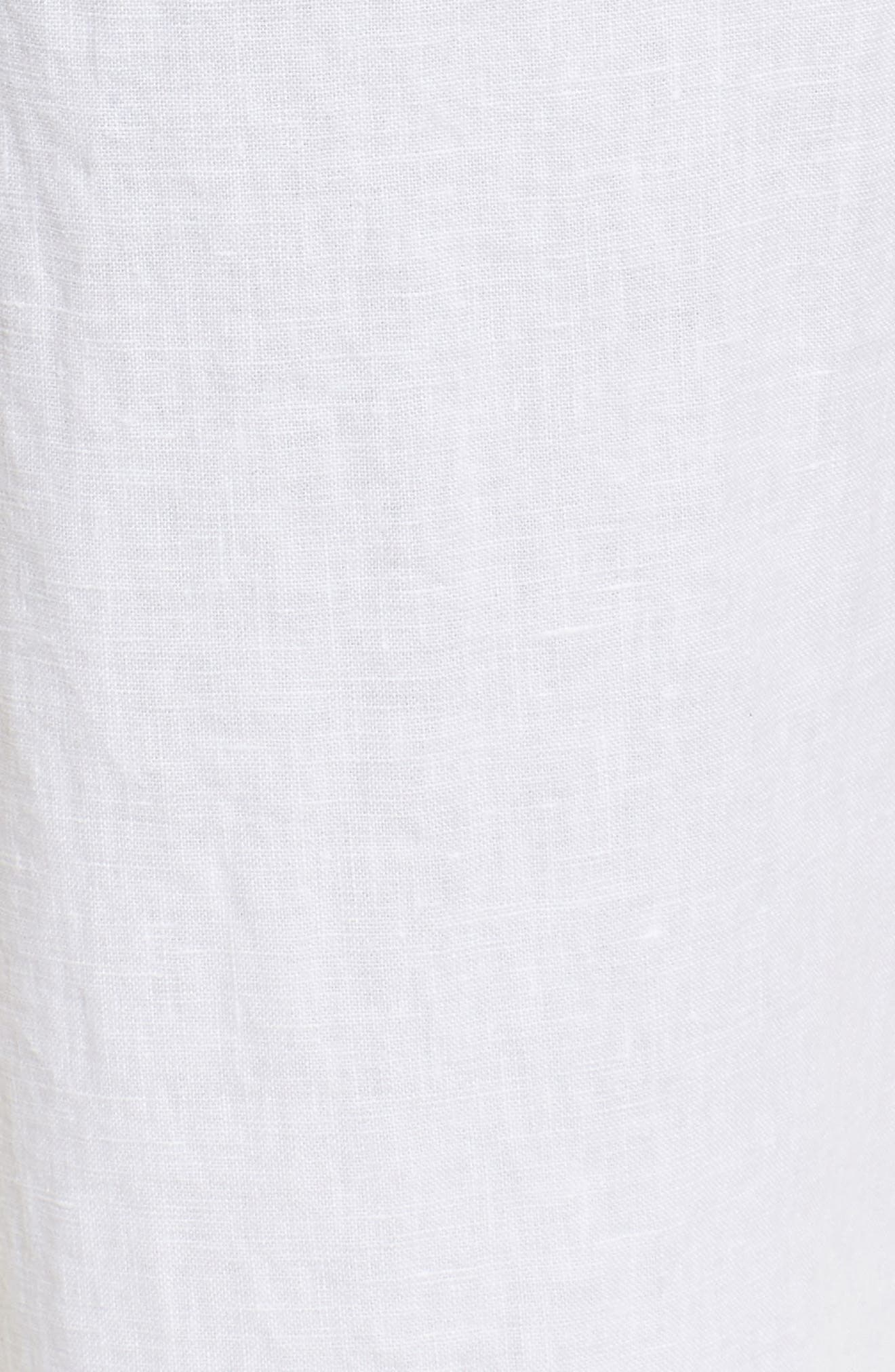 Linen Track Pants,                             Alternate thumbnail 22, color,
