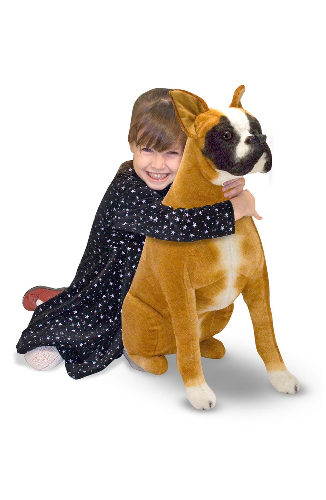 Oversized Boxer,                             Main thumbnail 1, color,                             BROWN