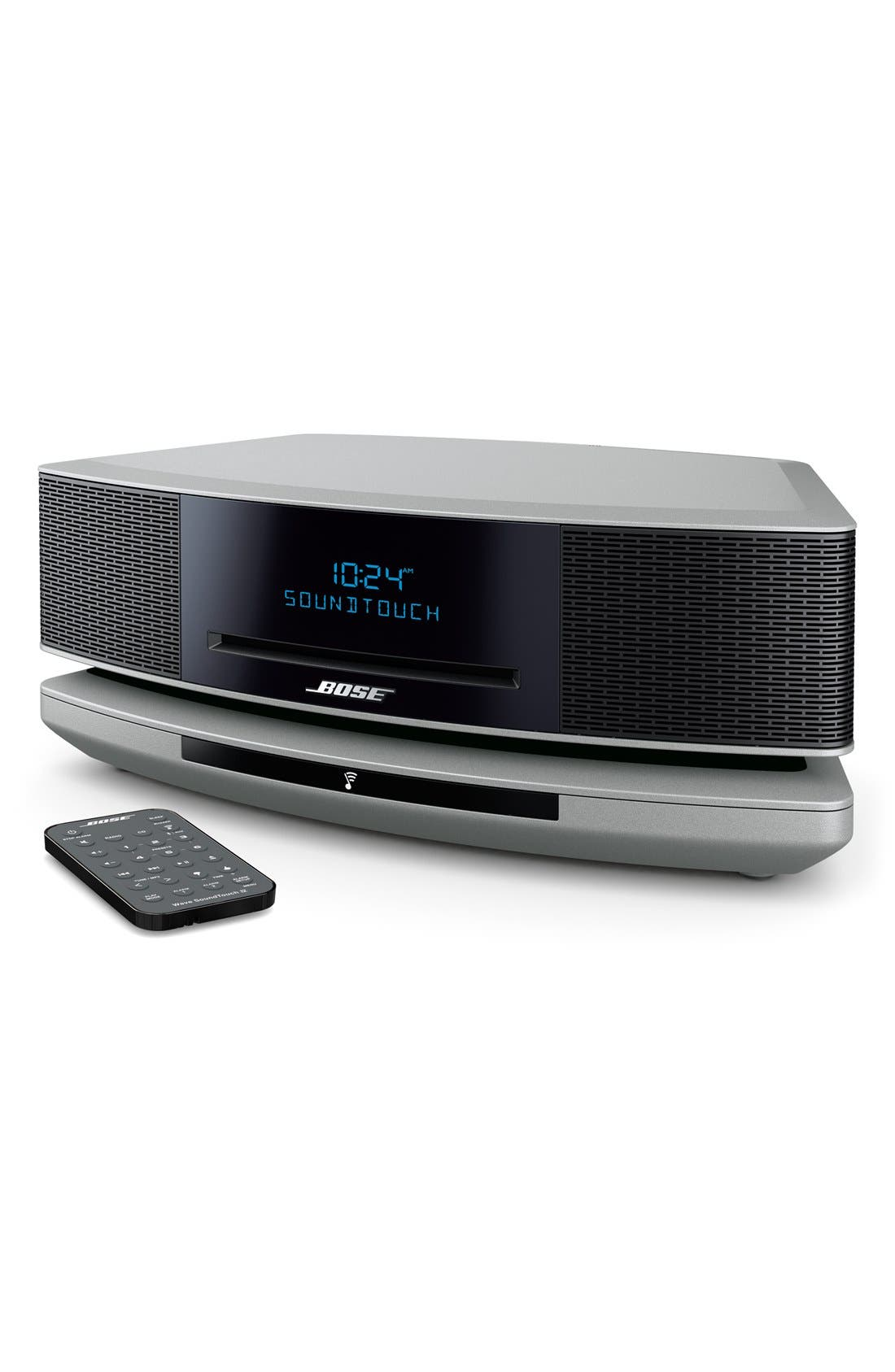 Wave<sup>®</sup> SoundTouch<sup>®</sup> IV Wi-Fi<sup>®</sup> Music System,                             Alternate thumbnail 3, color,                             SILVER