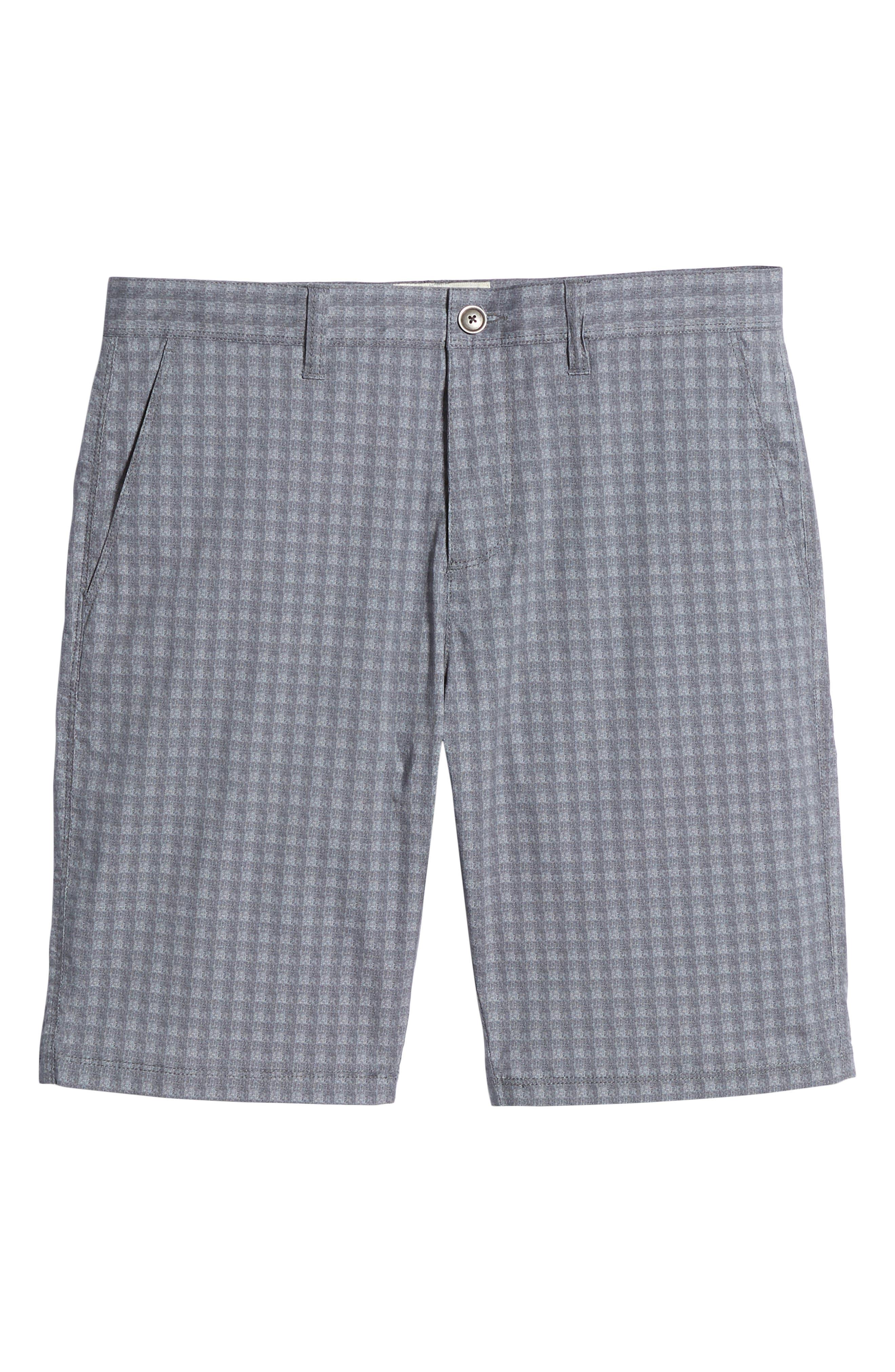 Tristen Check Shorts,                             Alternate thumbnail 6, color,                             020
