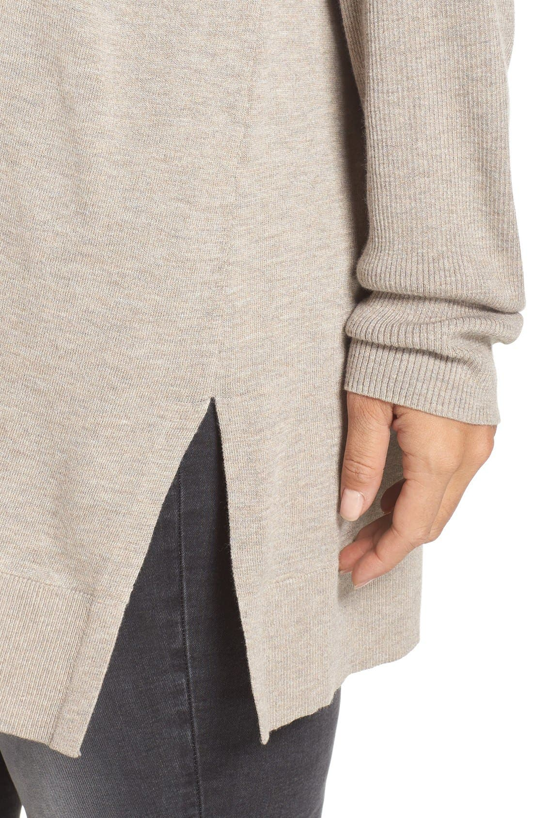 Cowl Neck Tunic Sweater,                             Alternate thumbnail 31, color,