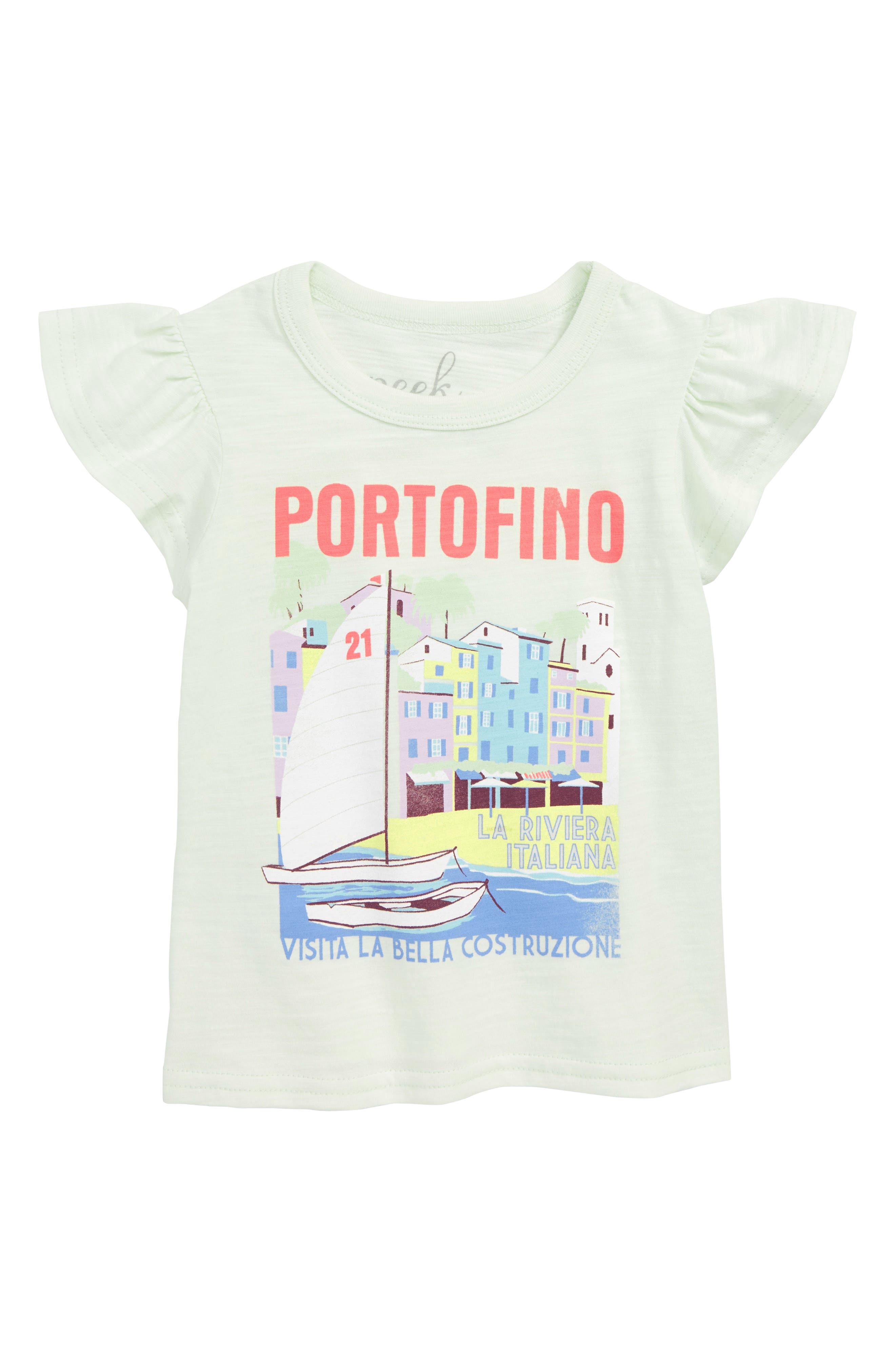 Portofino Graphic Tee,                         Main,                         color, MINT