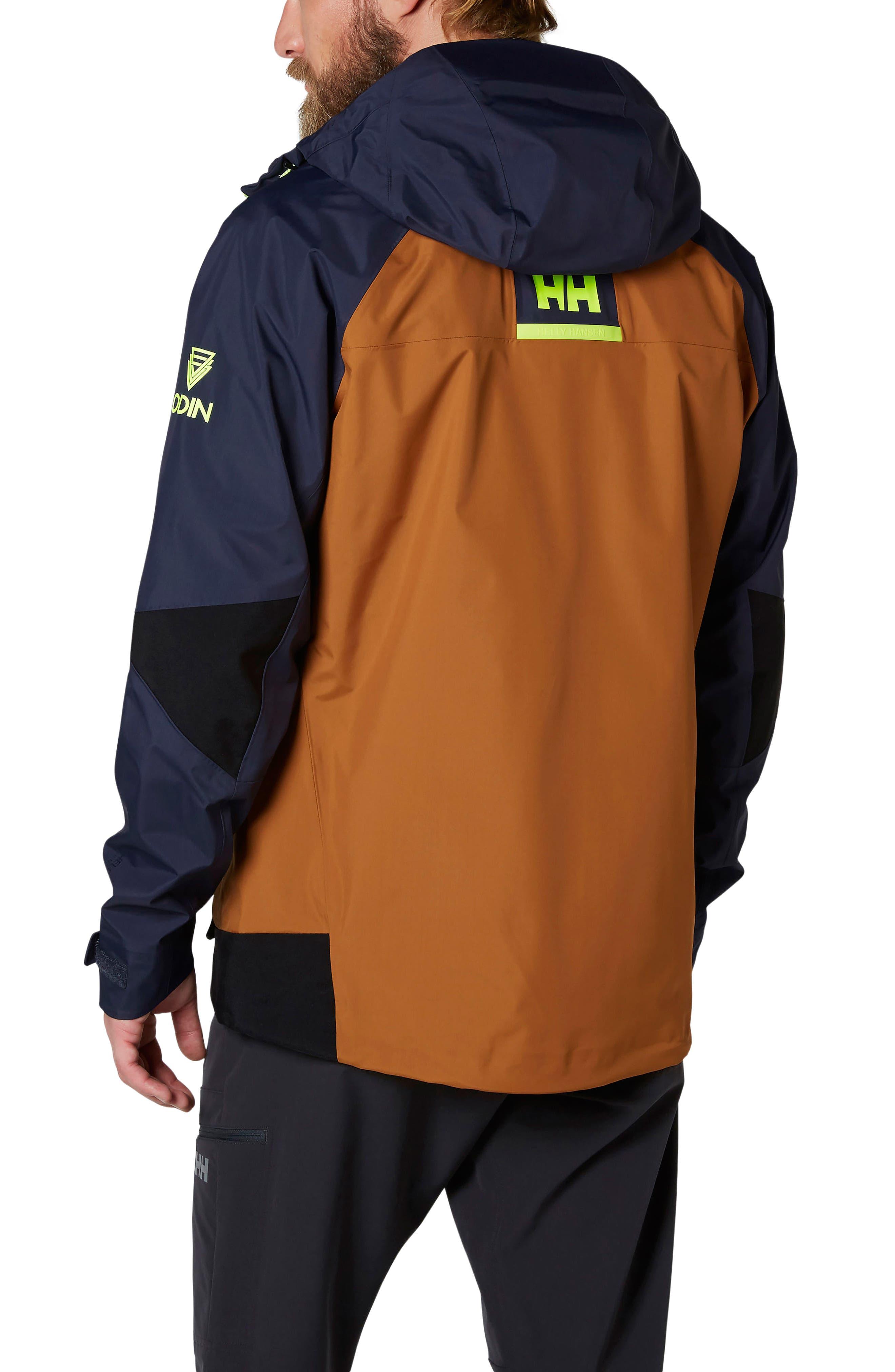 Odin 9 Worlds Waterproof Jacket,                             Alternate thumbnail 3, color,