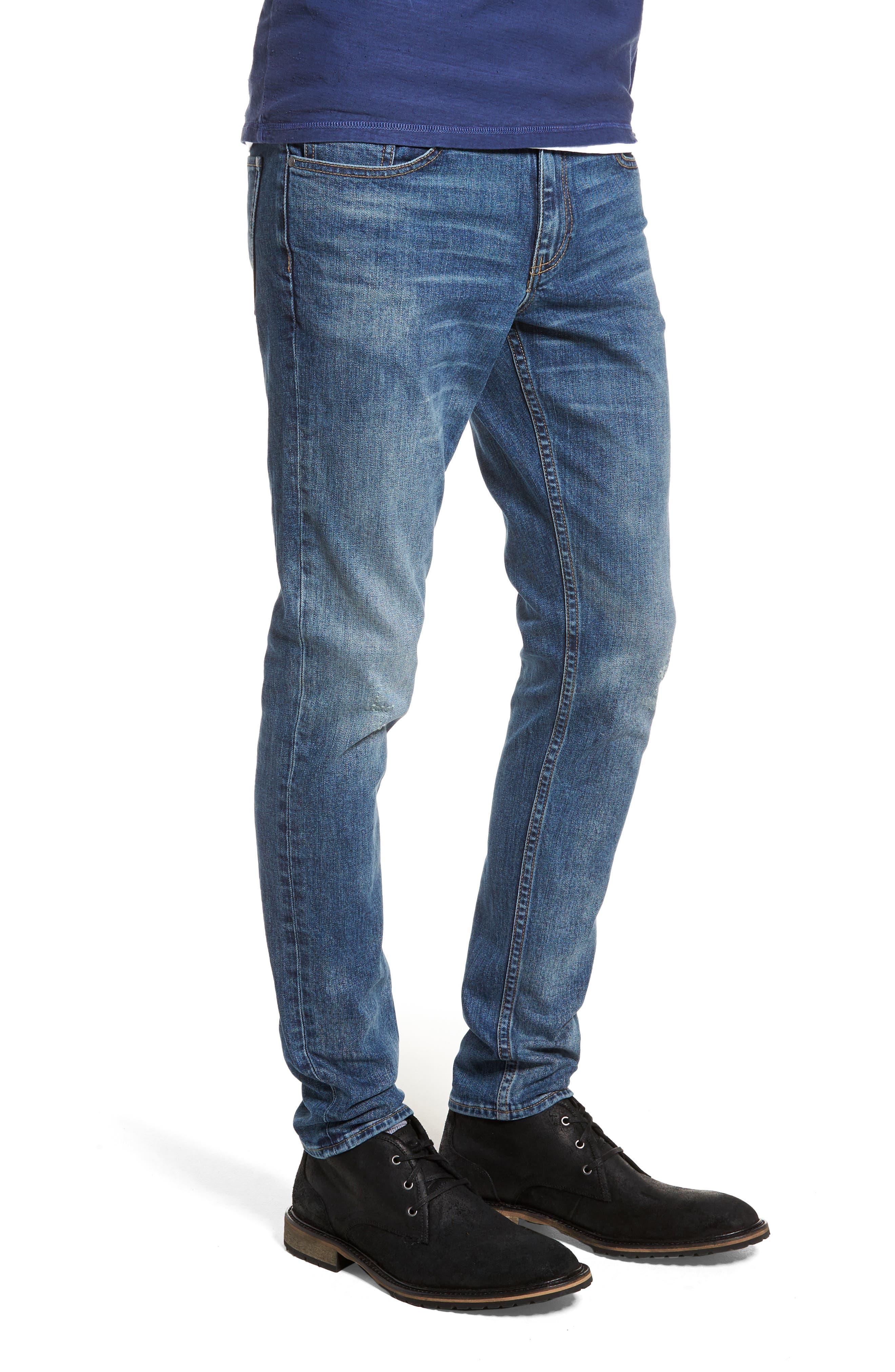 Skinny Fit Jeans,                             Alternate thumbnail 3, color,