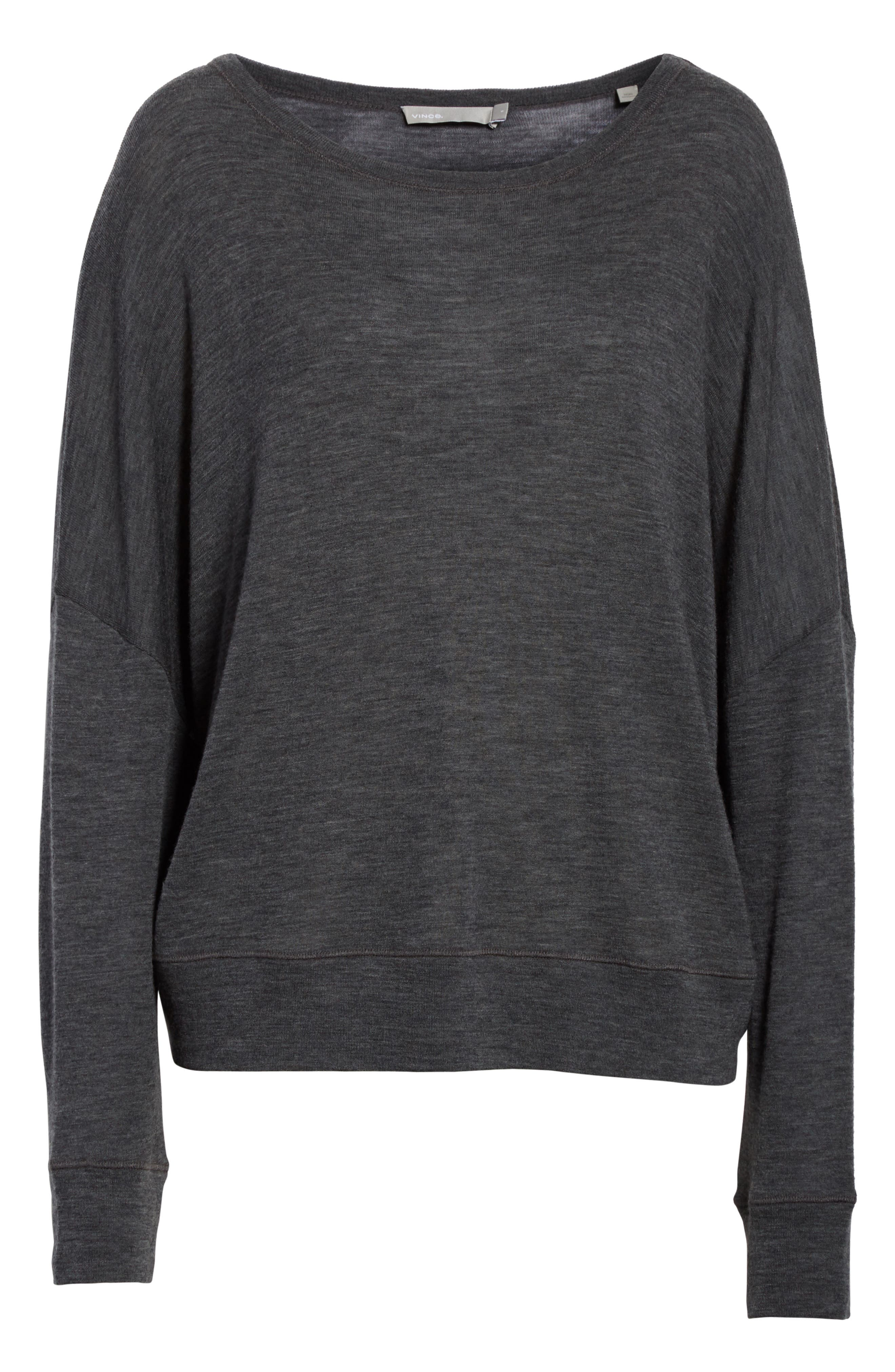 Wool Pullover,                             Alternate thumbnail 6, color,                             033