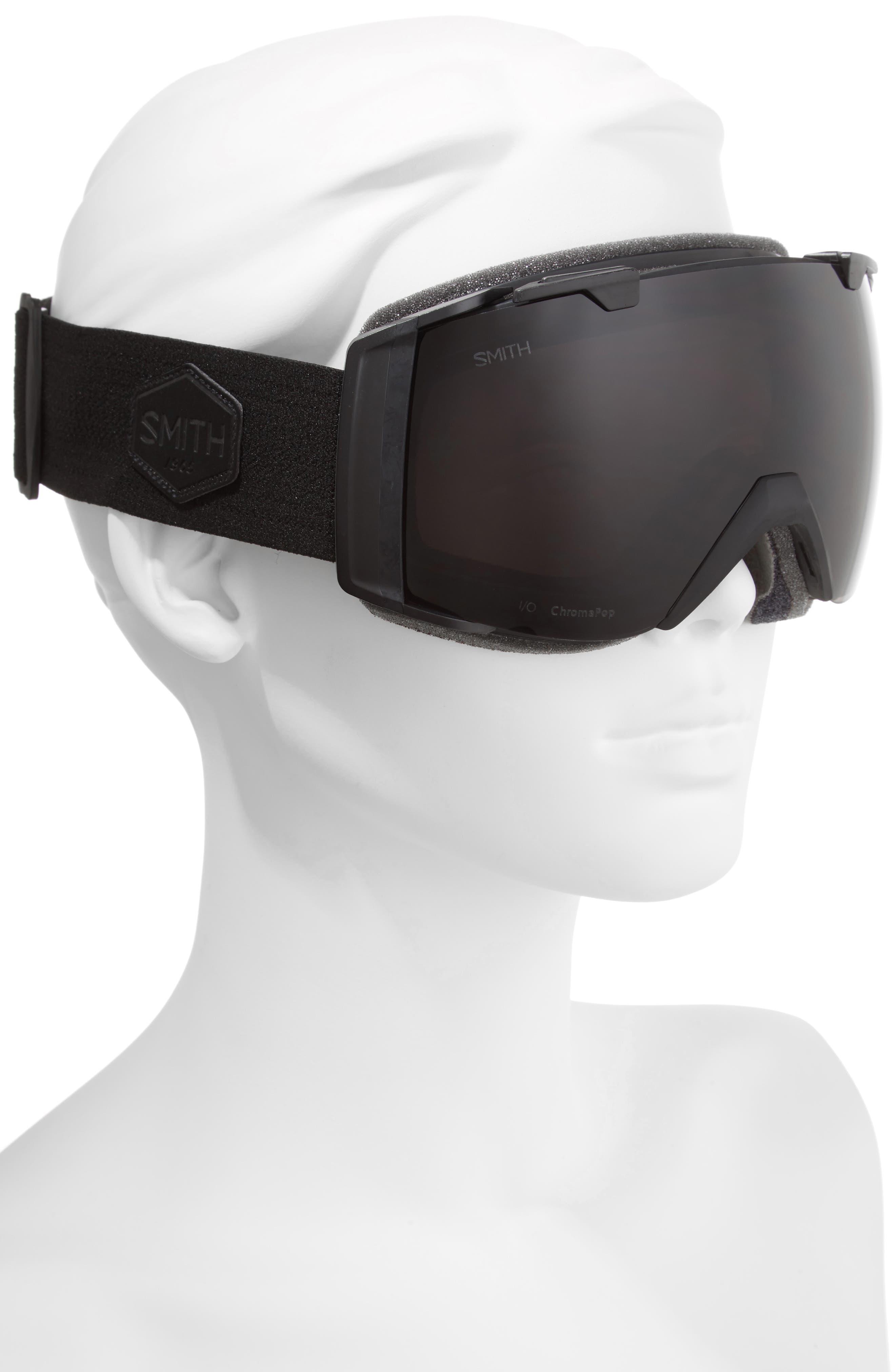 I/O 185mm Snow/Ski Goggles,                             Alternate thumbnail 2, color,                             BLACKOUT/ MIRROR