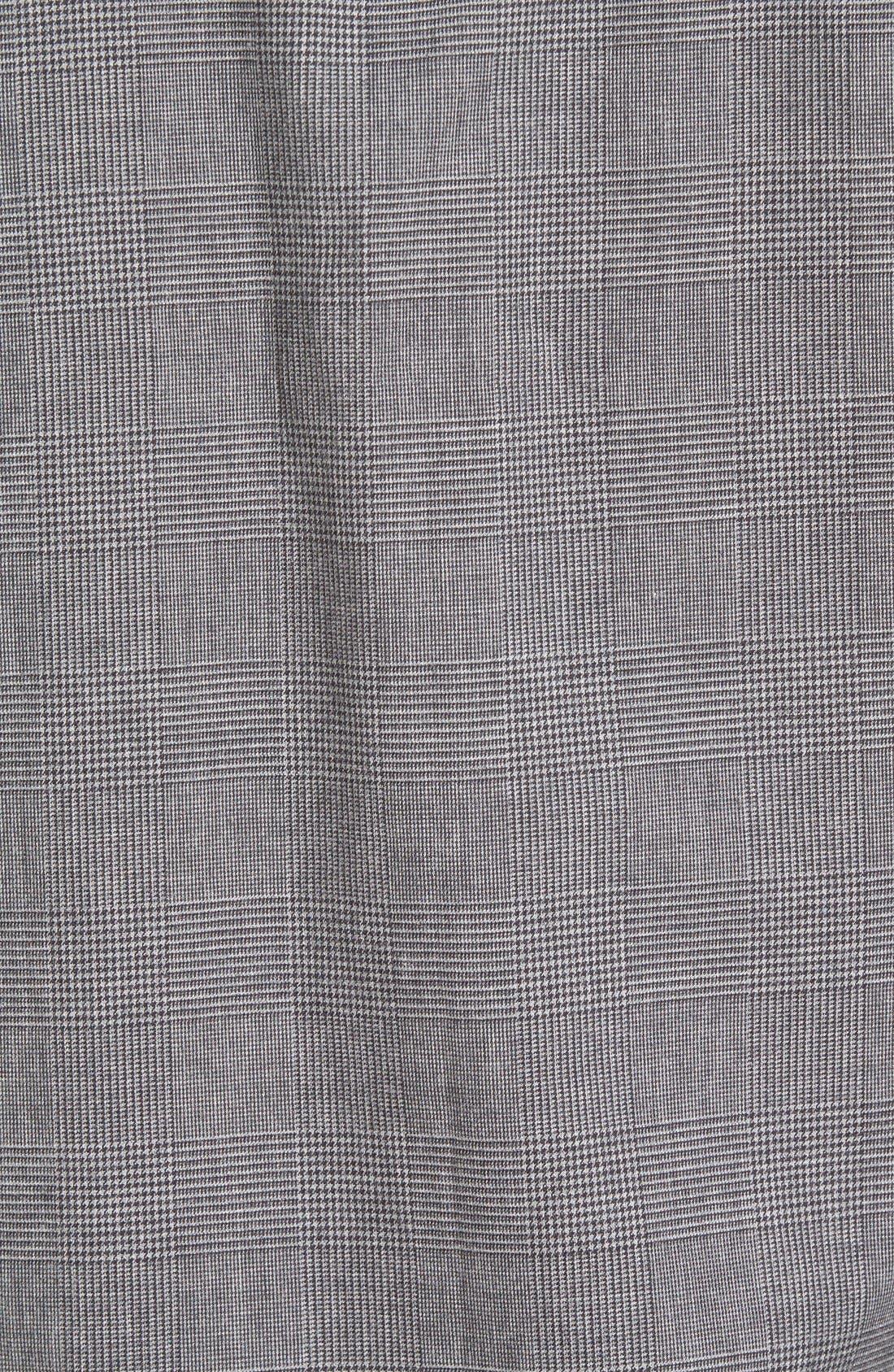 Regular Fit Glen Plaid Sport Shirt,                             Alternate thumbnail 5, color,                             026