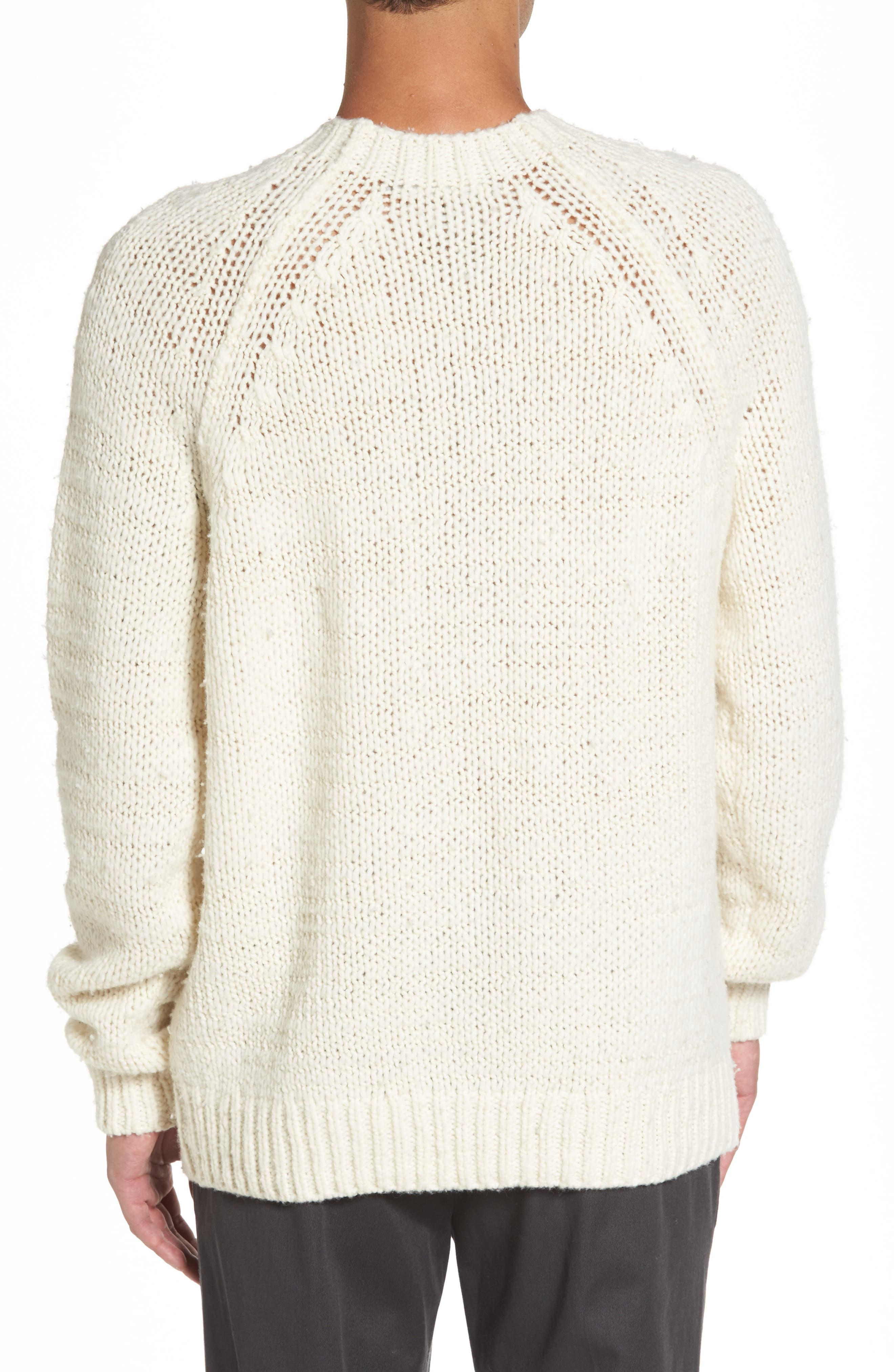 Raglan Sweater,                             Alternate thumbnail 4, color,