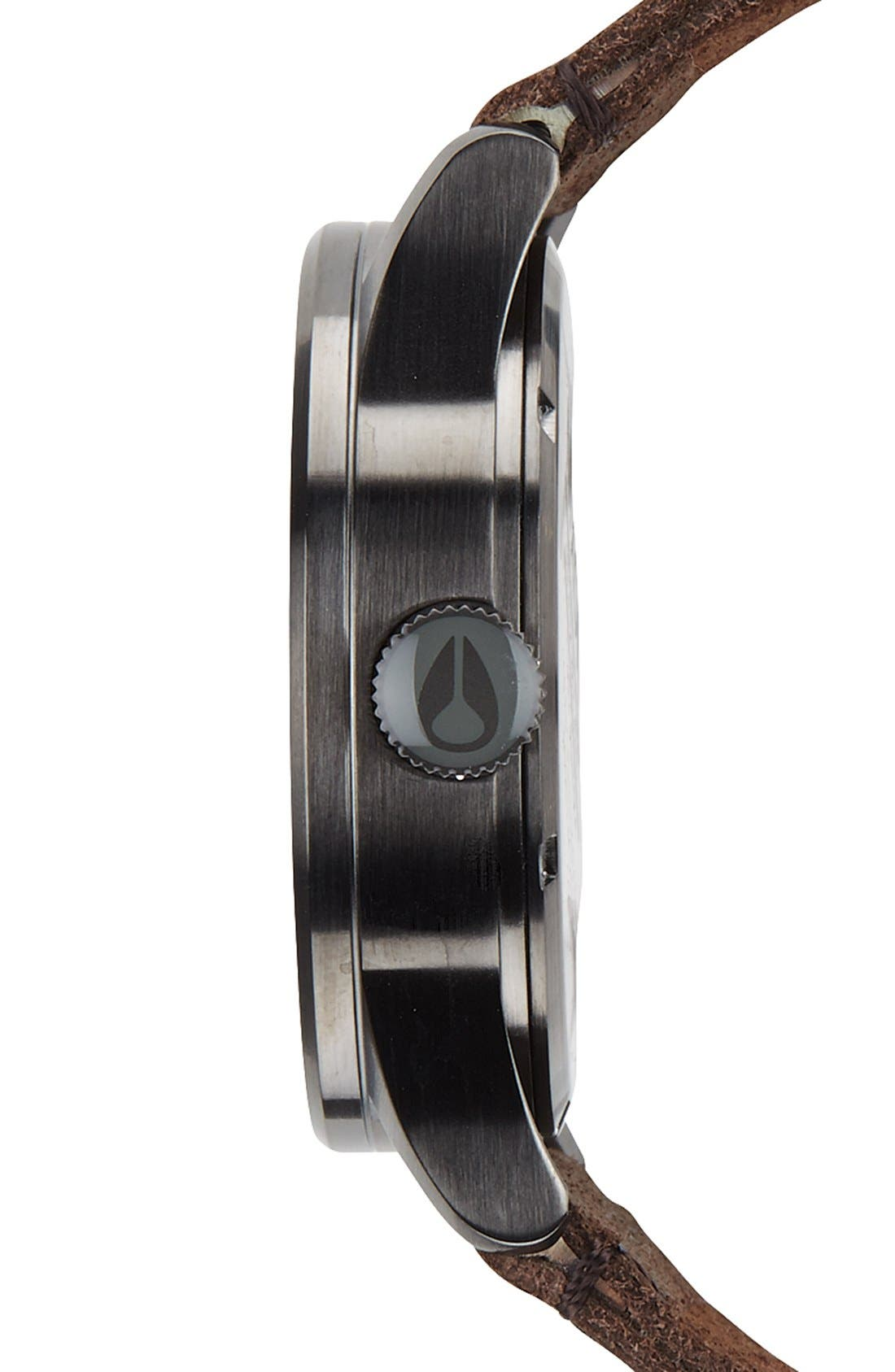 The Sentry Leather Strap Watch, 42mm,                             Alternate thumbnail 121, color,