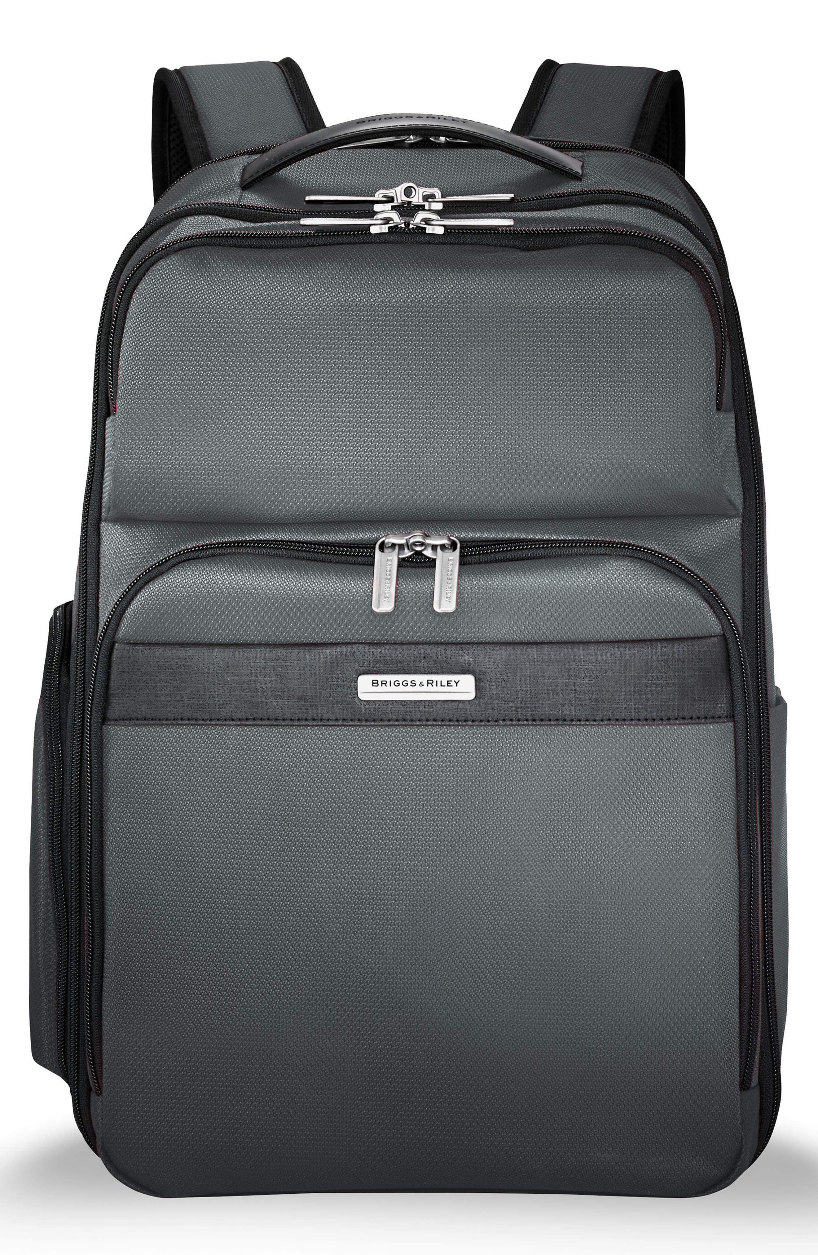Transcend 400 Cargo Backpack,                             Main thumbnail 1, color,                             SLATE GREY