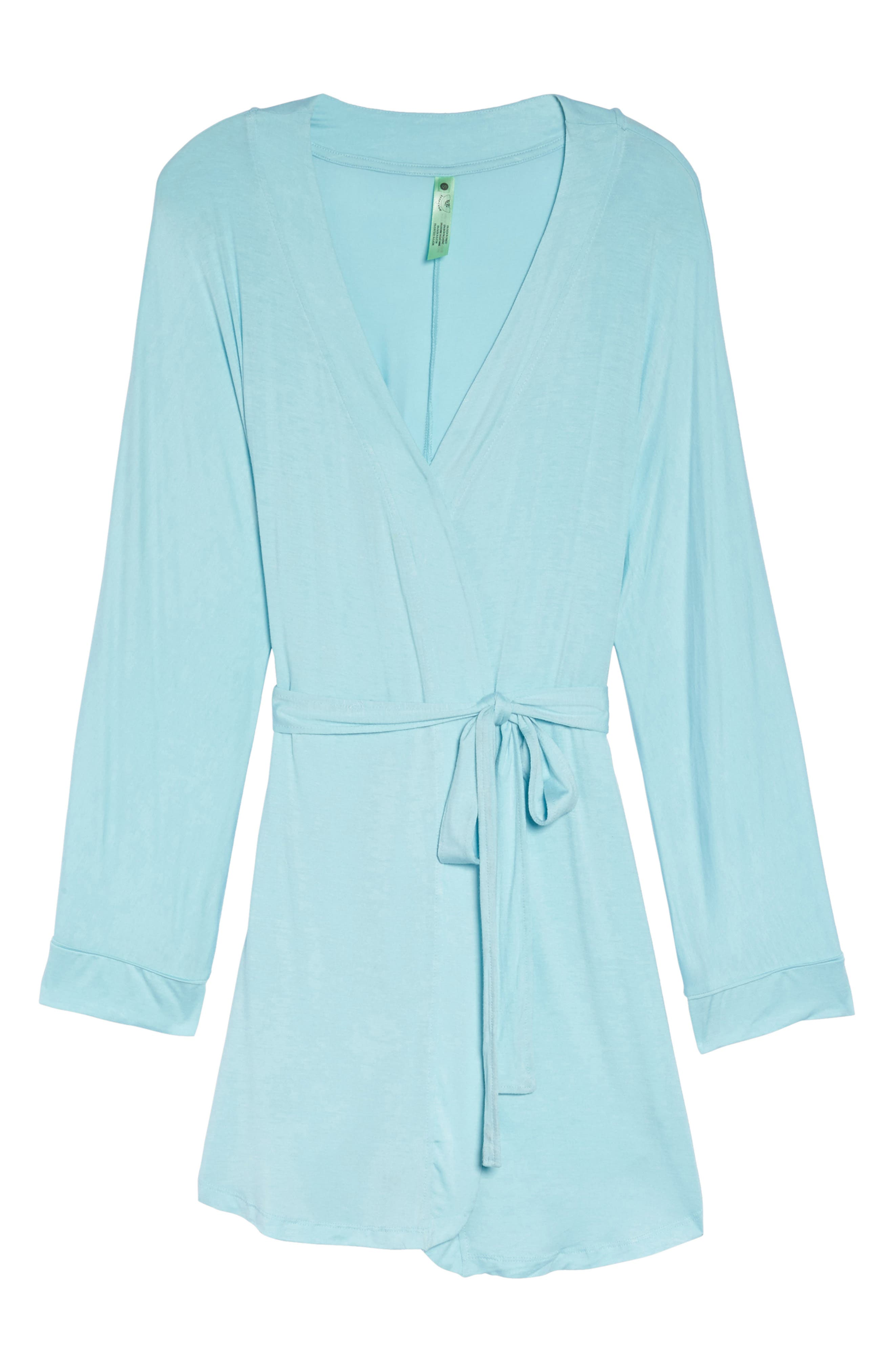 All American Jersey Robe,                             Alternate thumbnail 6, color,                             SOMETHING BLUE