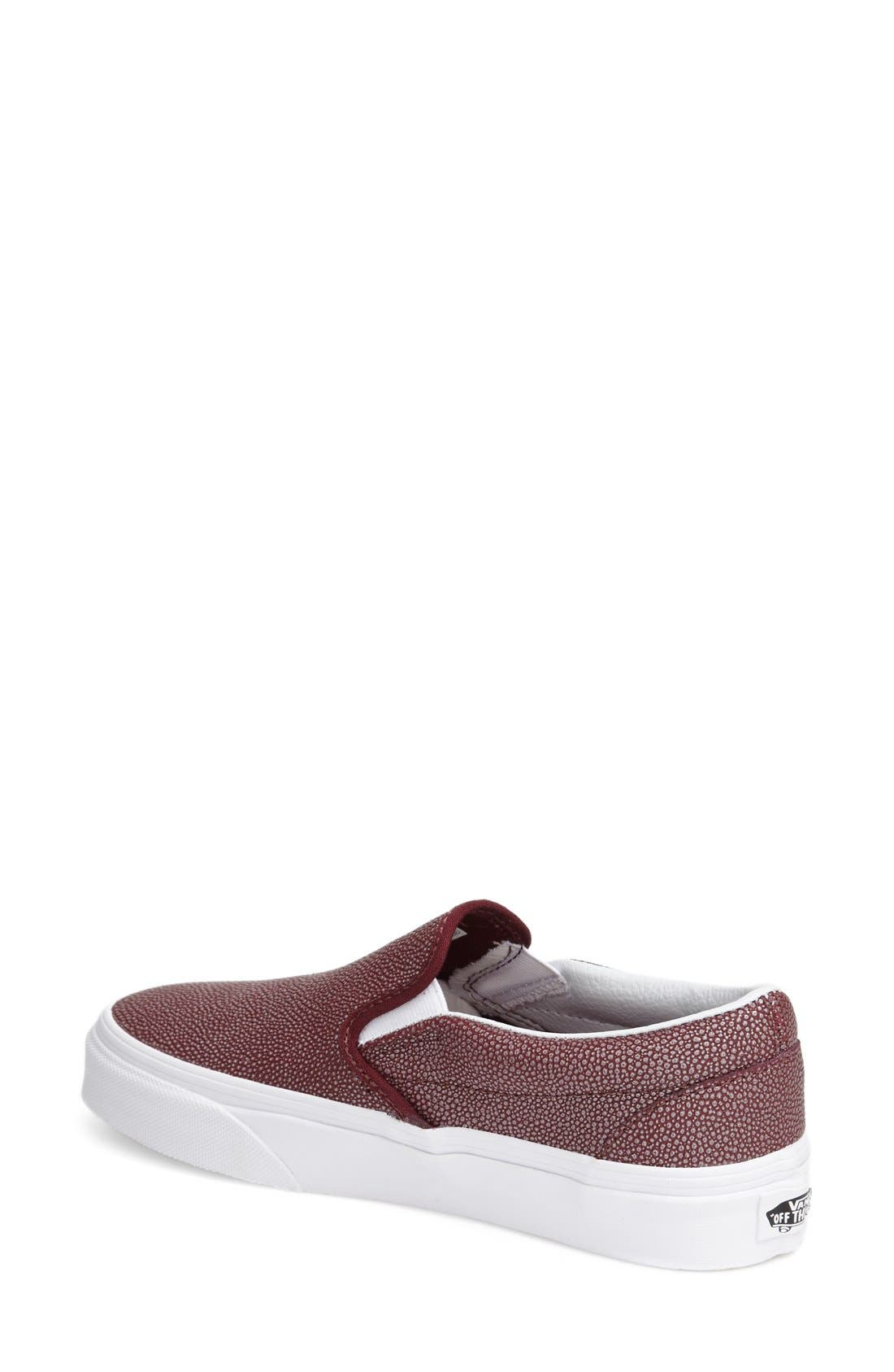 Classic Slip-On Sneaker,                             Alternate thumbnail 161, color,