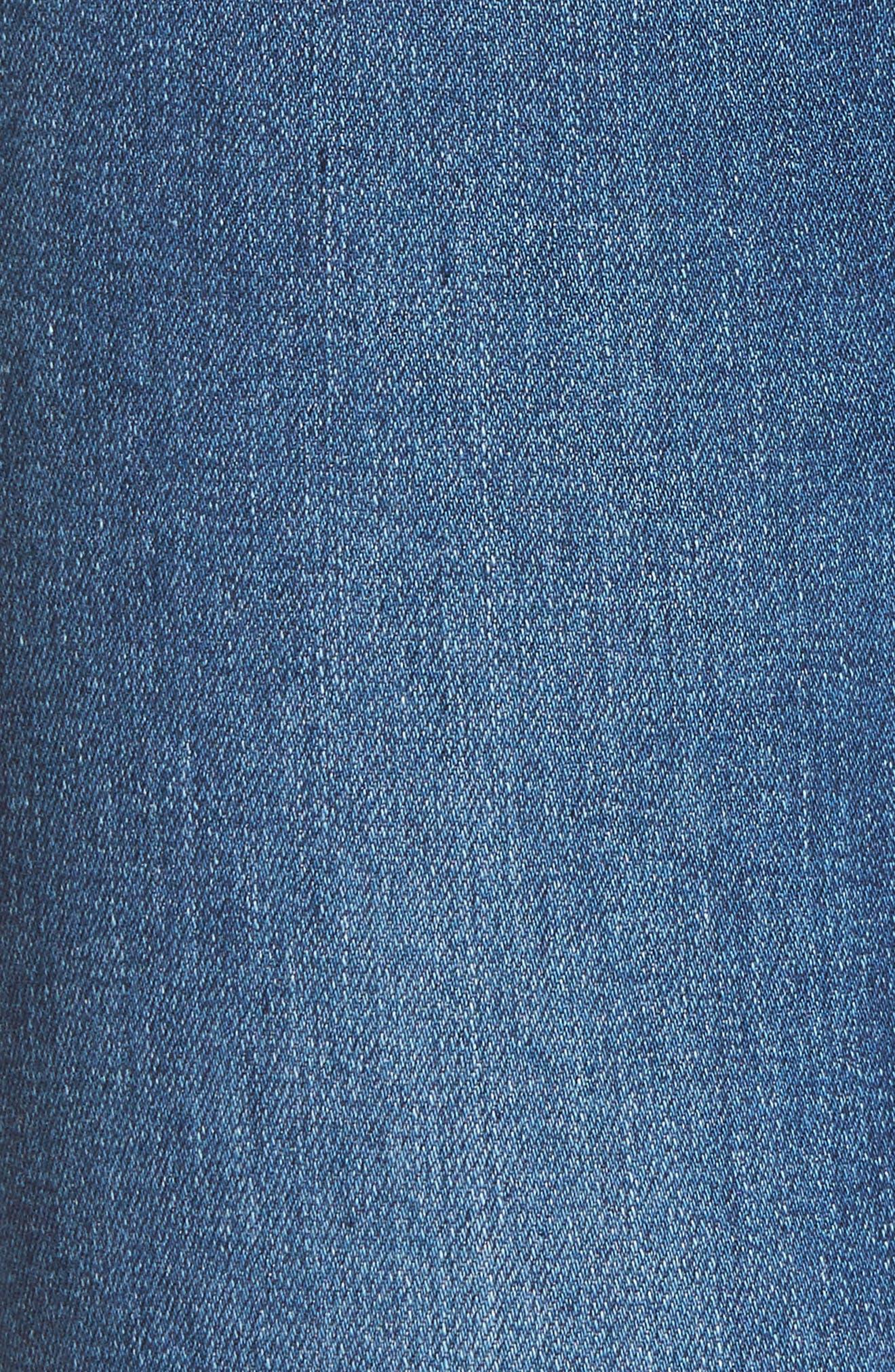Mila High Waist Skinny Jeans,                             Alternate thumbnail 5, color,                             473
