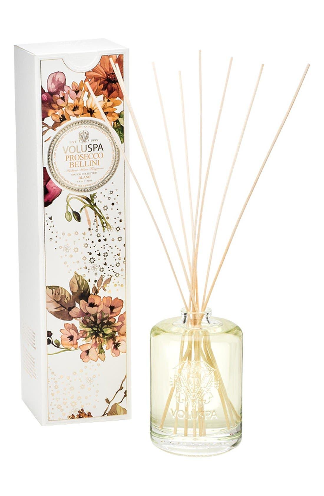 Maison Blanc Prosecco Bellini Fragrance Oil Diffuser,                             Main thumbnail 1, color,                             PROSECCO BELLINI
