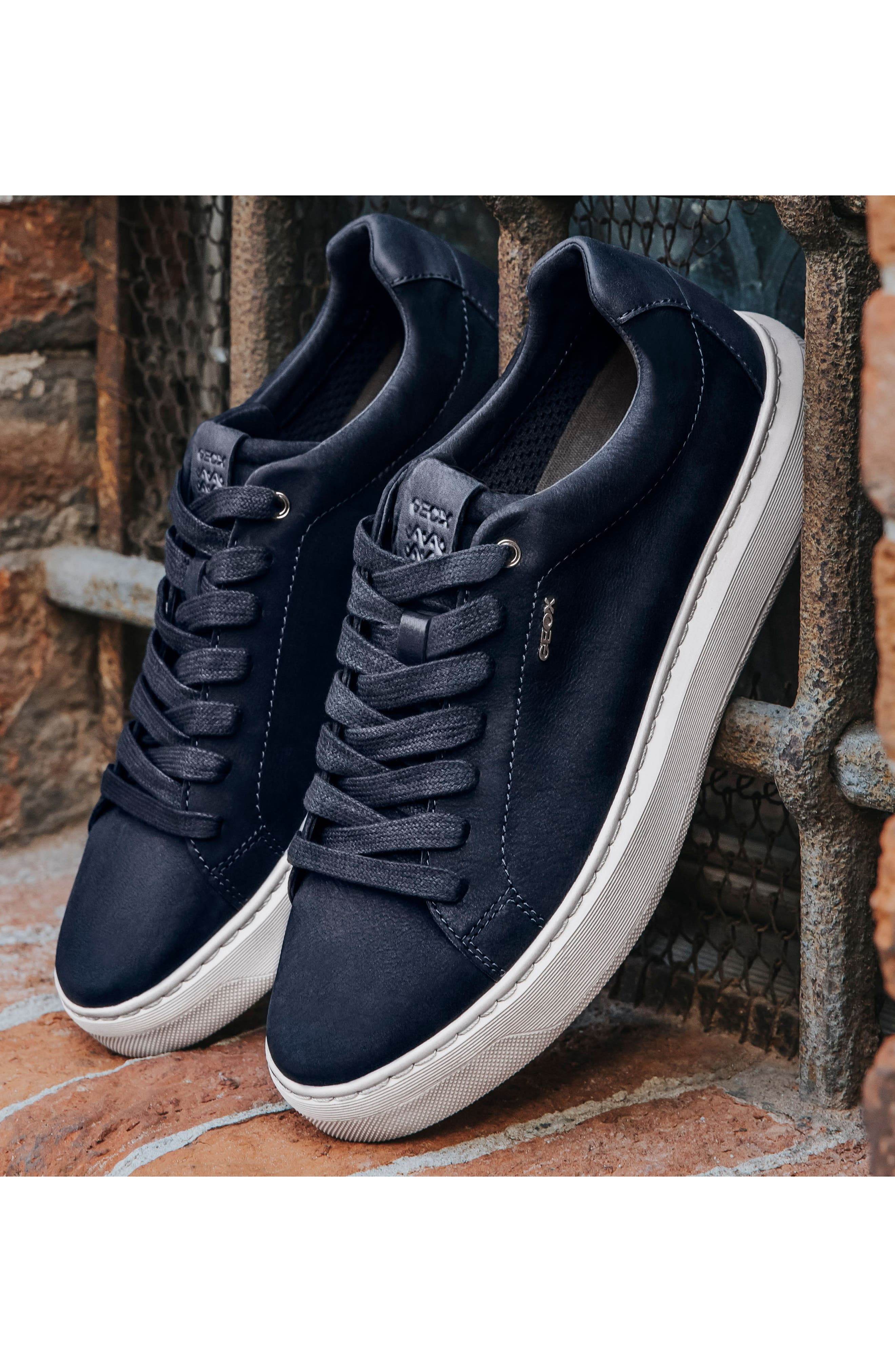 Deiven 5 Low Top Sneaker,                             Alternate thumbnail 7, color,                             DARK COFFEE LEATHER