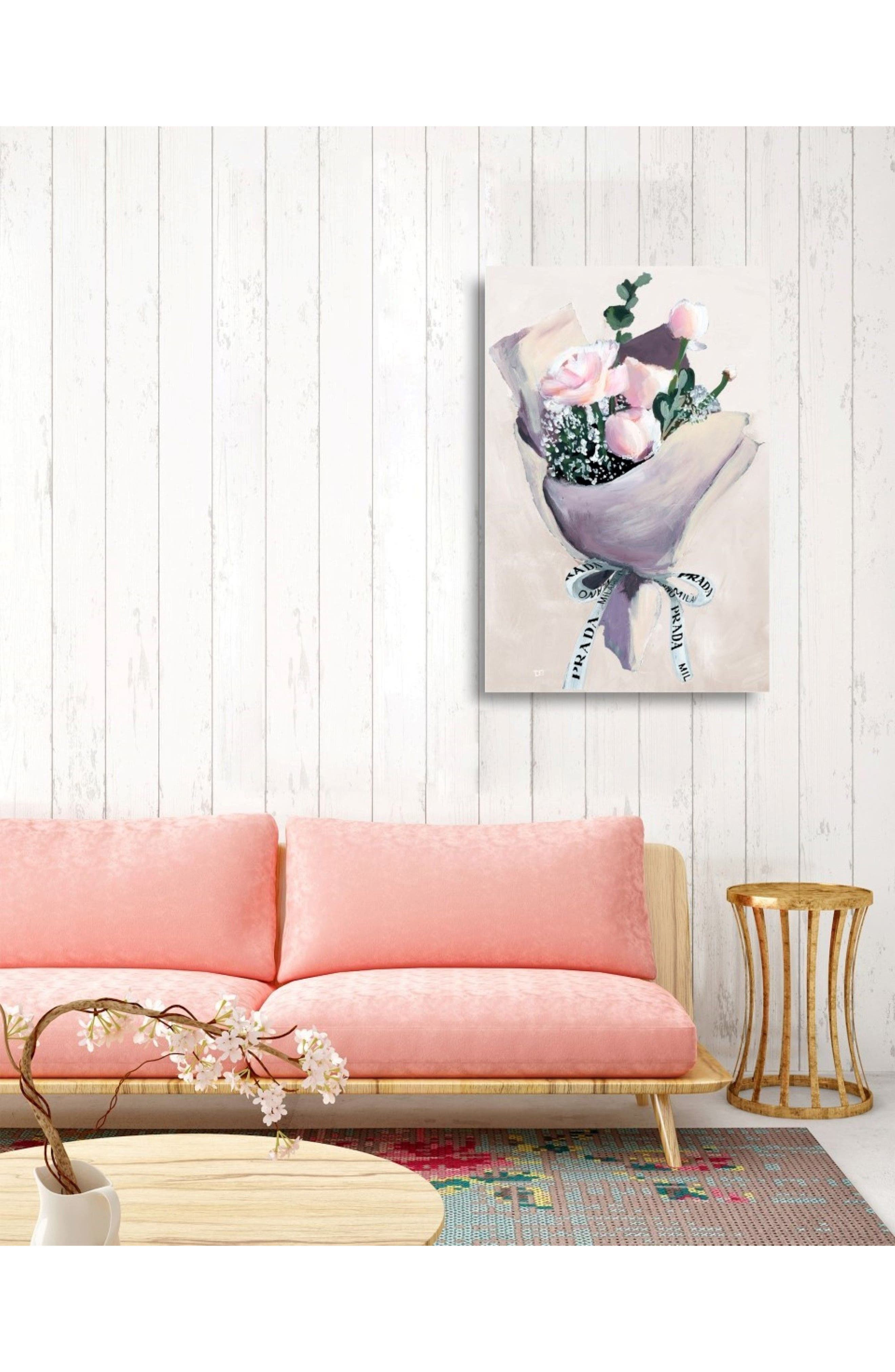 Delivery for Her Canvas Wall Art,                             Alternate thumbnail 2, color,