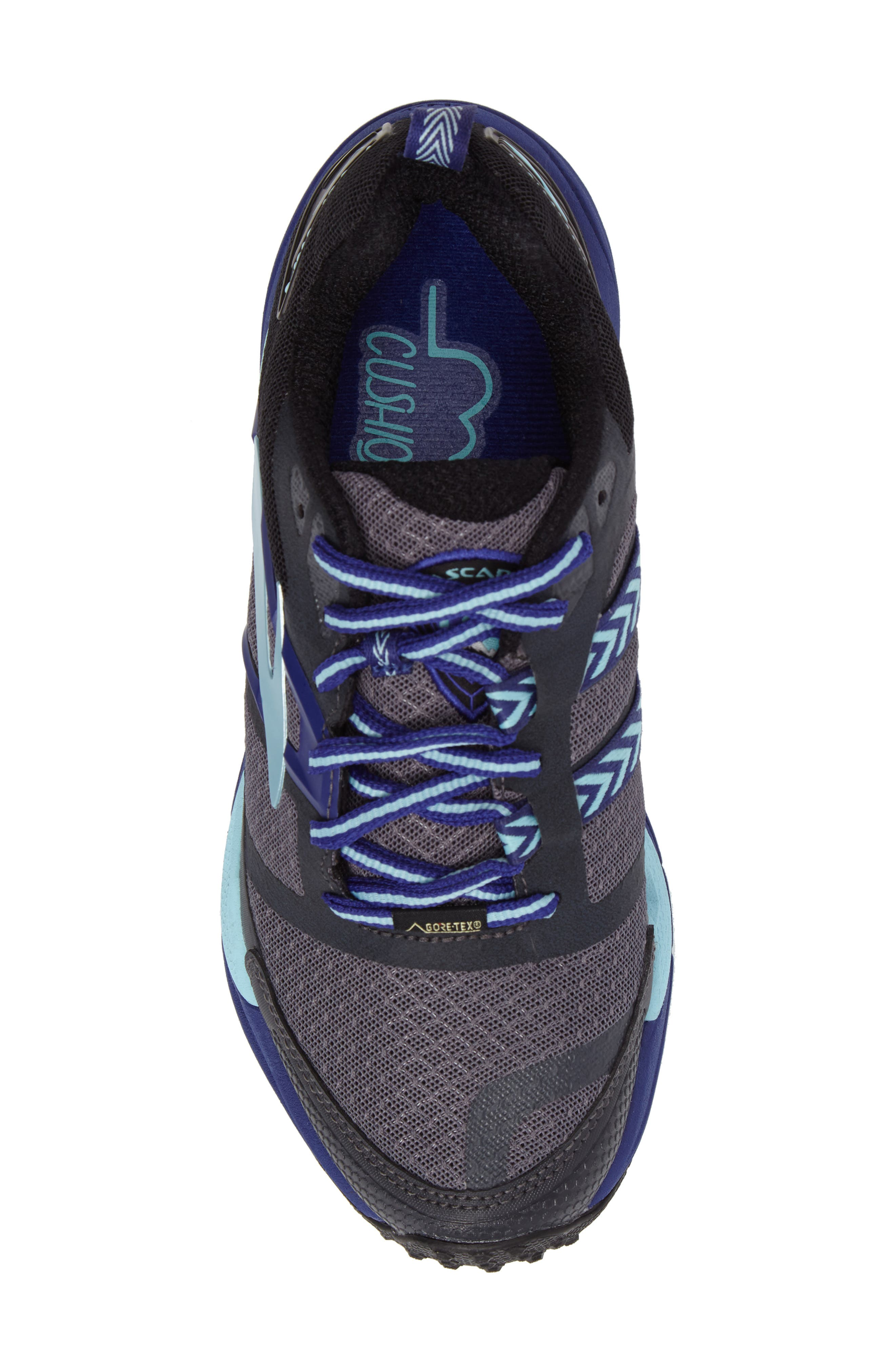Cascadia 12 GTX Trail Running Shoe,                             Alternate thumbnail 5, color,                             001