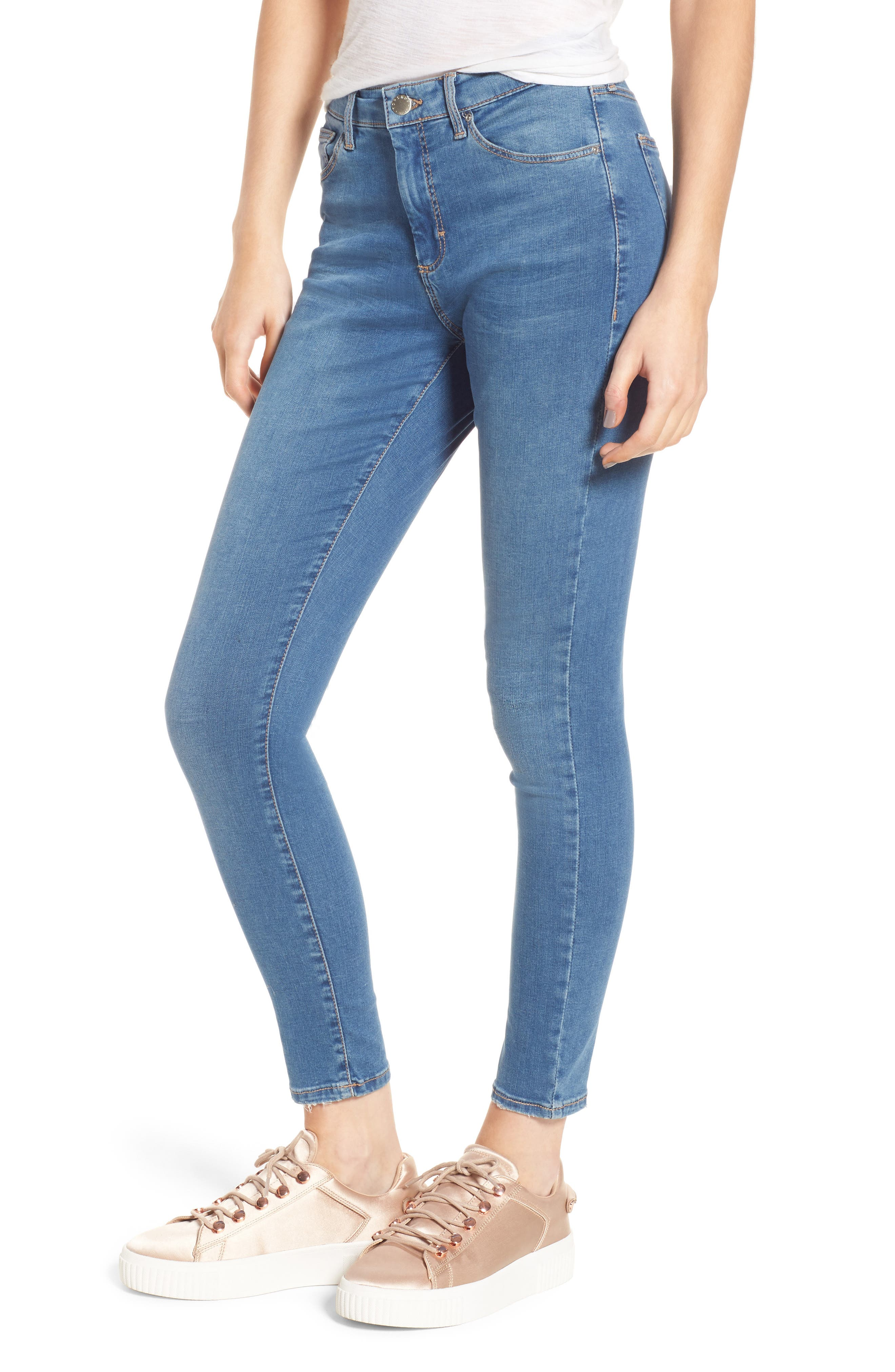 Leigh Skinny Jeans,                             Main thumbnail 1, color,                             400