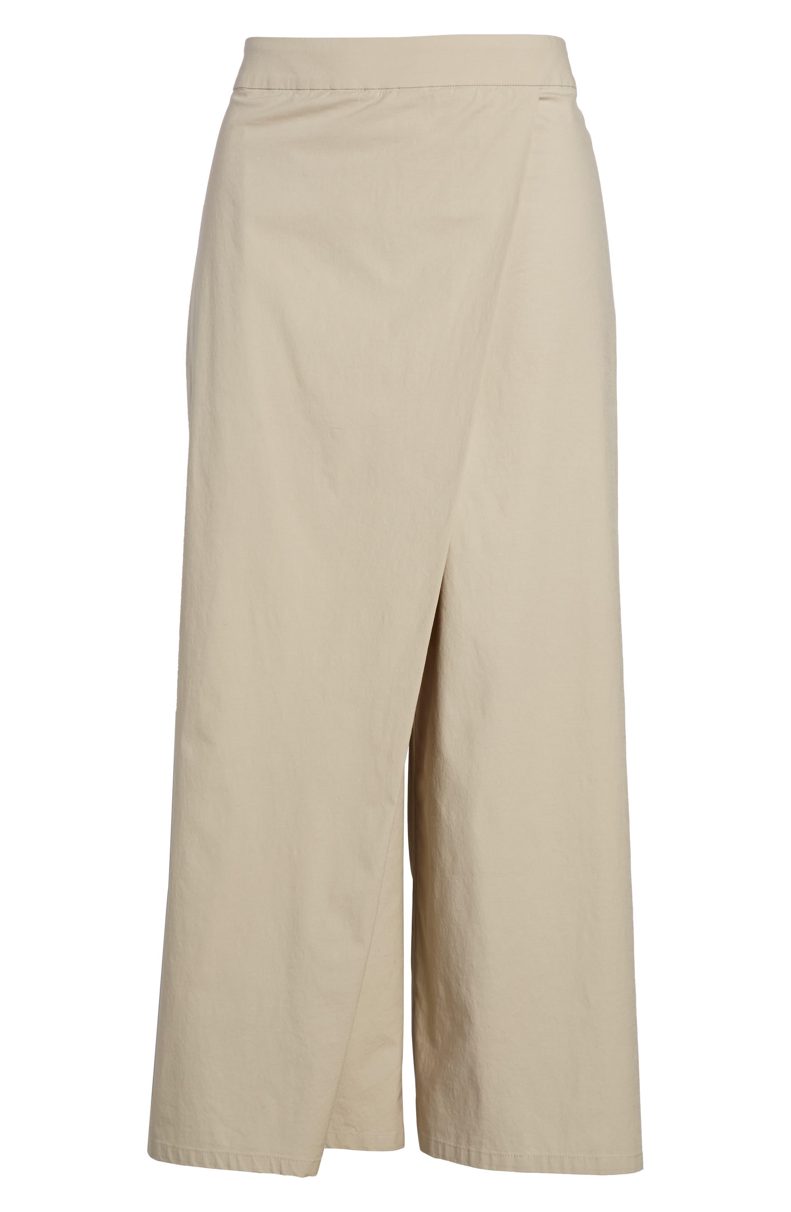 Foldover Wide Leg Crop Pants,                             Alternate thumbnail 13, color,