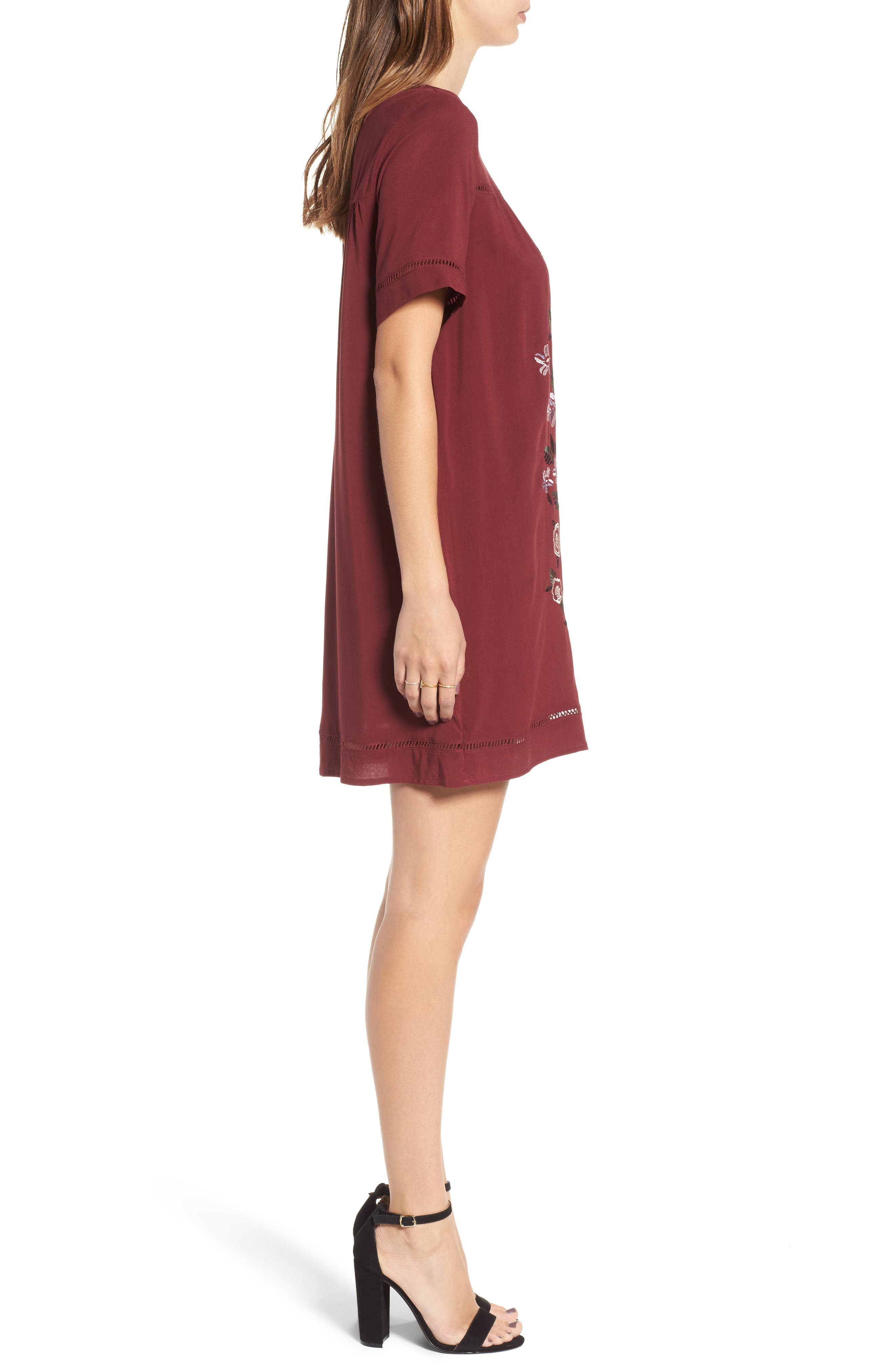Embroidered Dress,                             Alternate thumbnail 6, color,