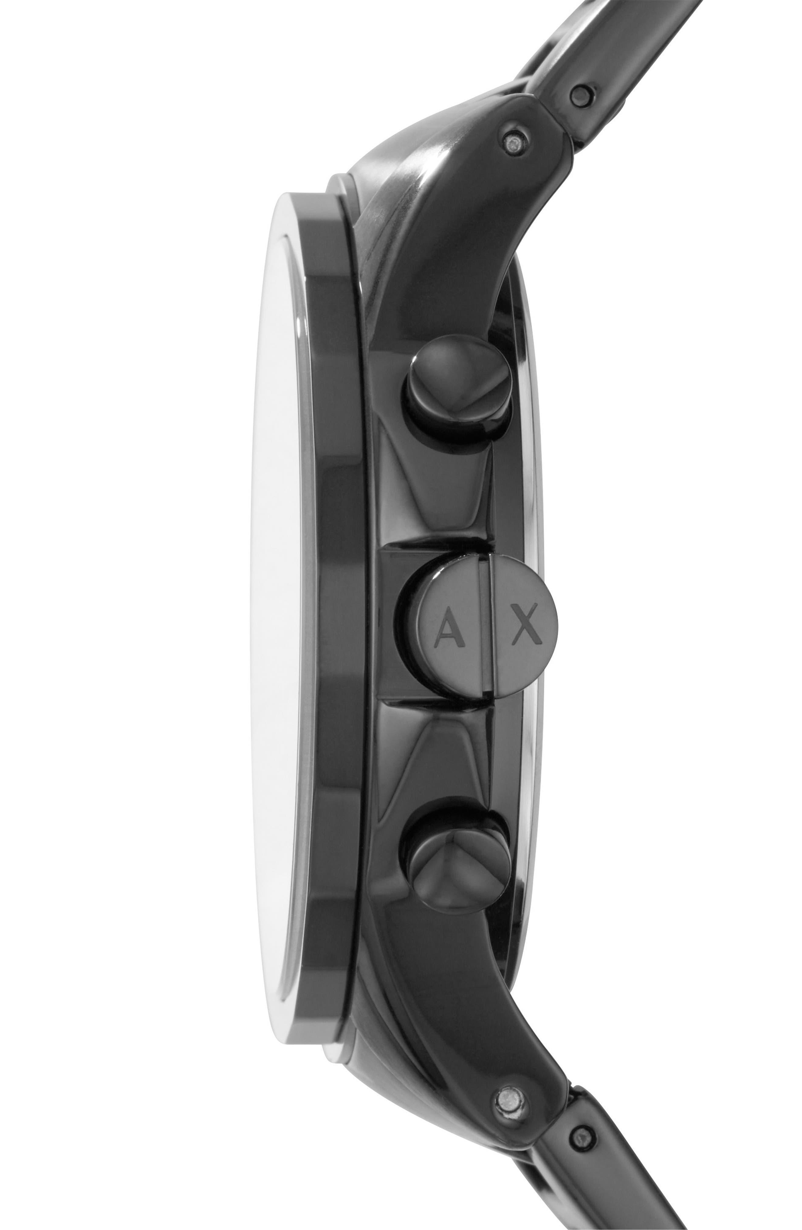 Chronograph Bracelet Watch, 45mm,                             Alternate thumbnail 2, color,