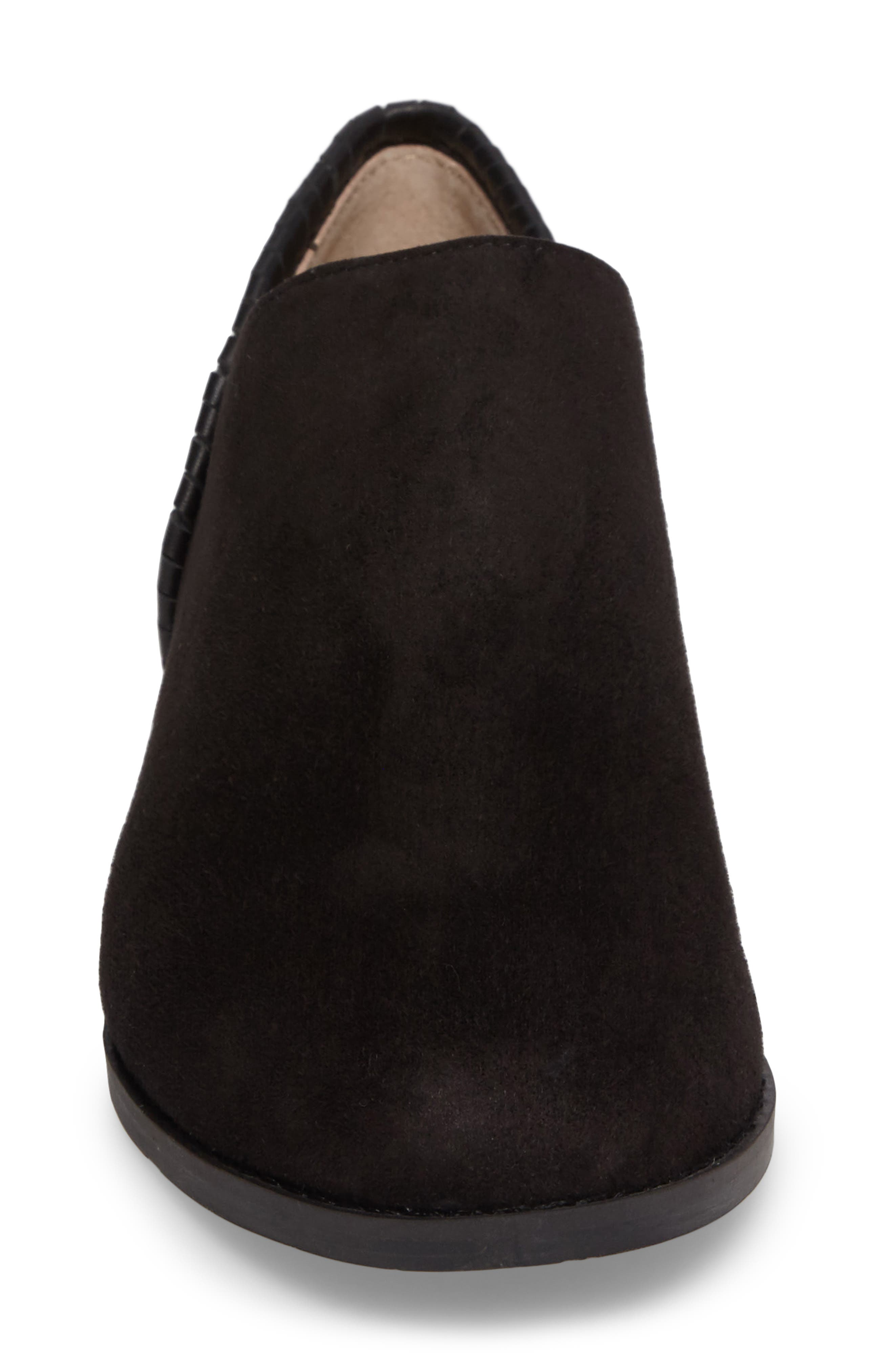 Avery Low Bootie,                             Alternate thumbnail 4, color,                             001