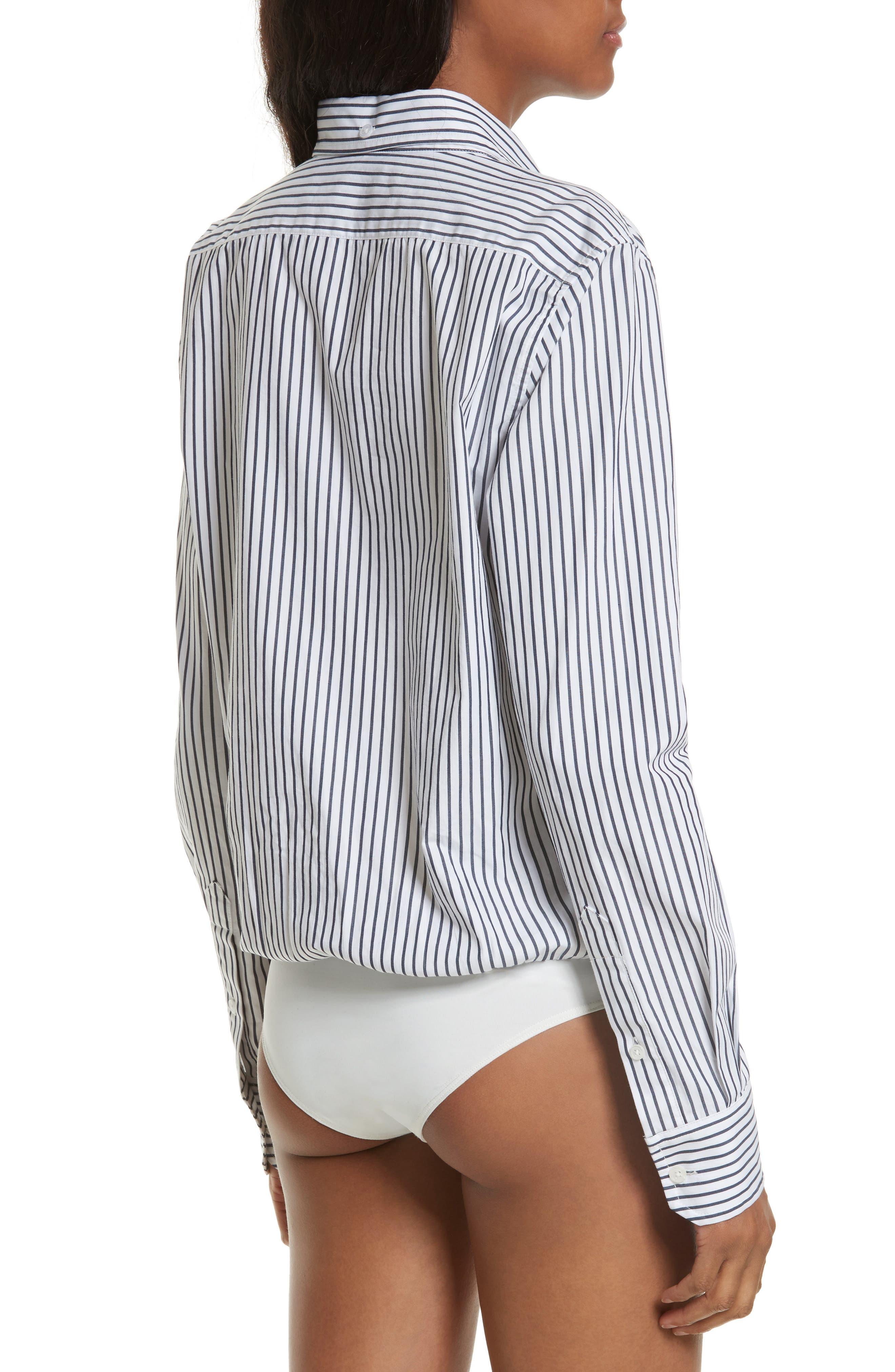 Stripe Bodysuit,                             Alternate thumbnail 3, color,