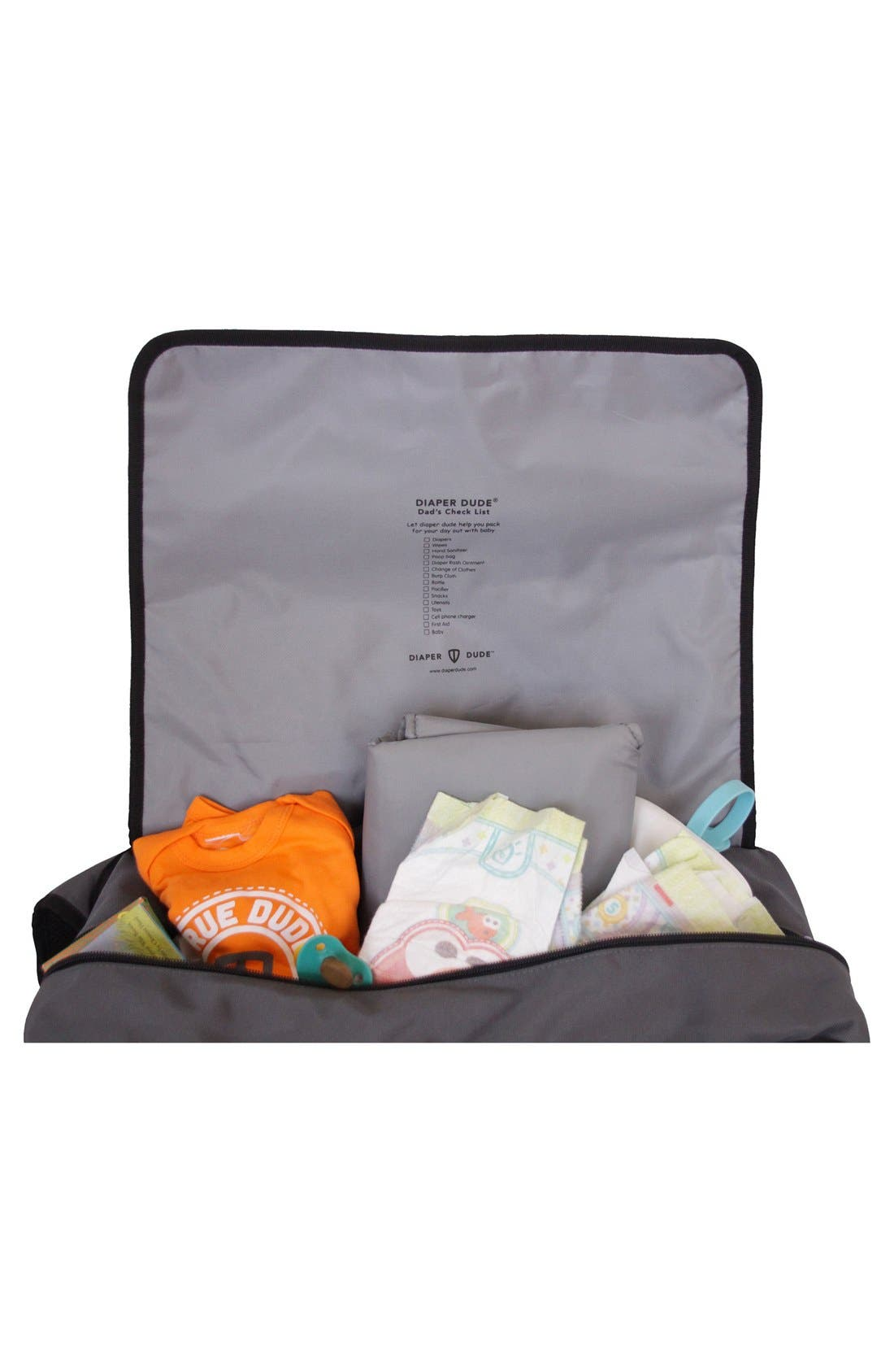 Messenger III Diaper Bag,                             Alternate thumbnail 5, color,                             020