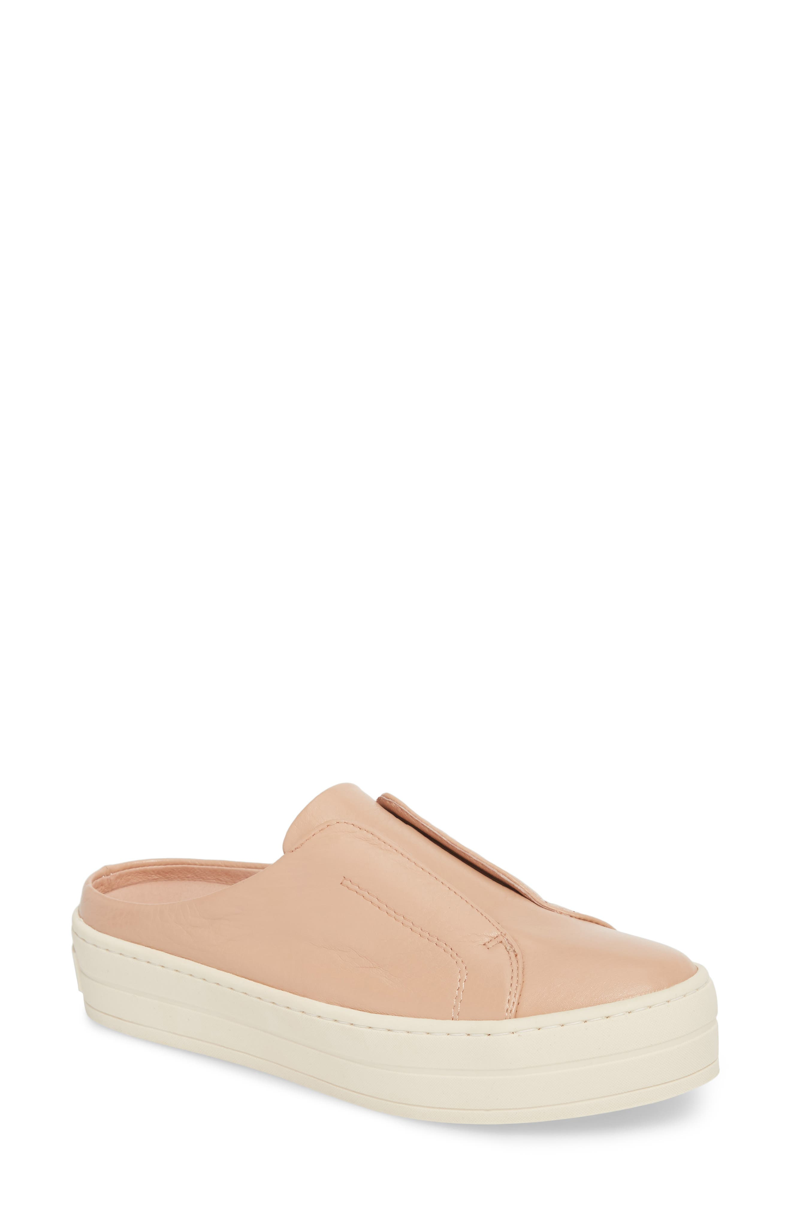 Hara Sneaker Mule,                         Main,                         color, BLUSH SUEDE